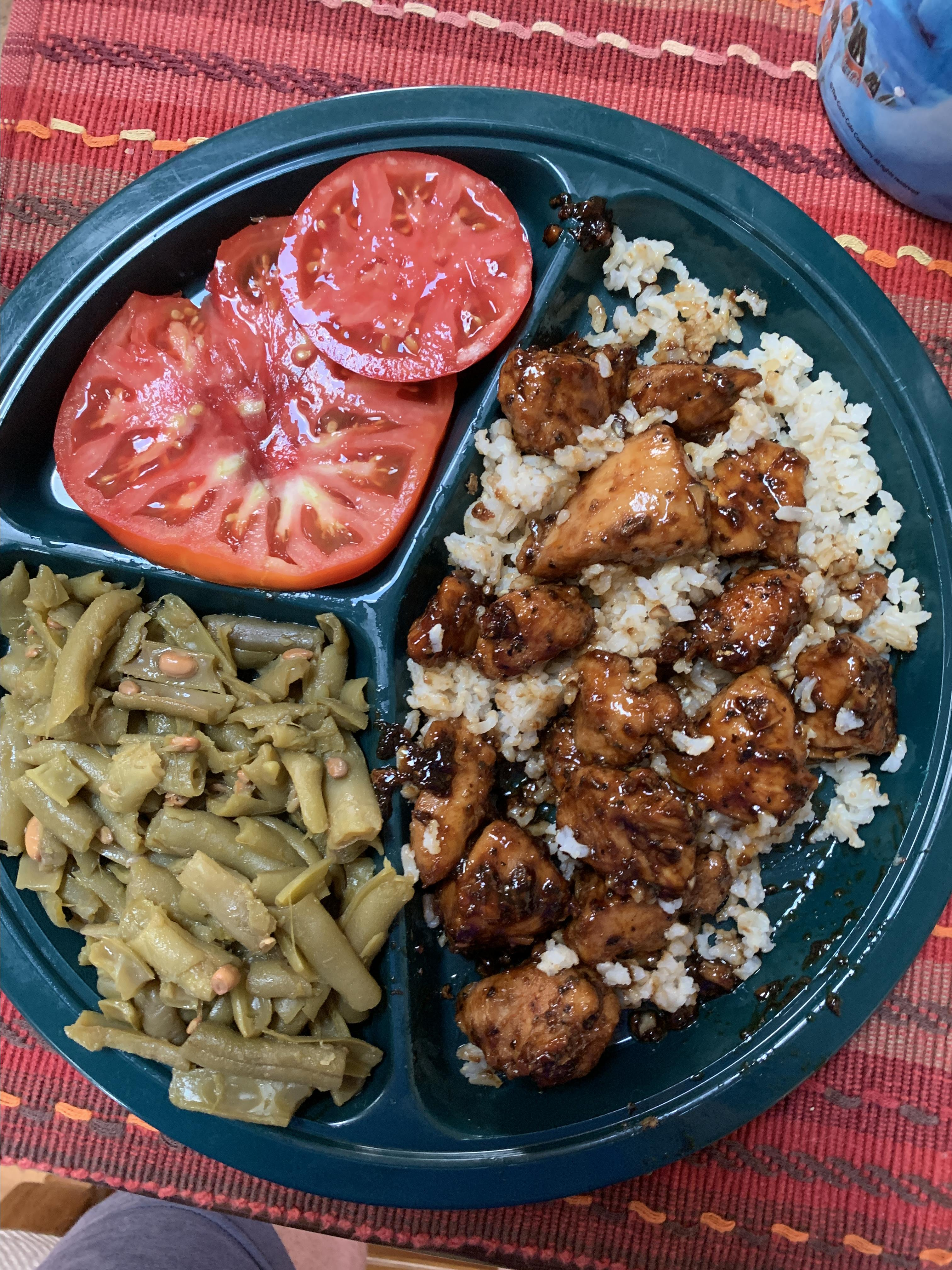 Sweet, Sticky and Spicy Chicken Charlotte