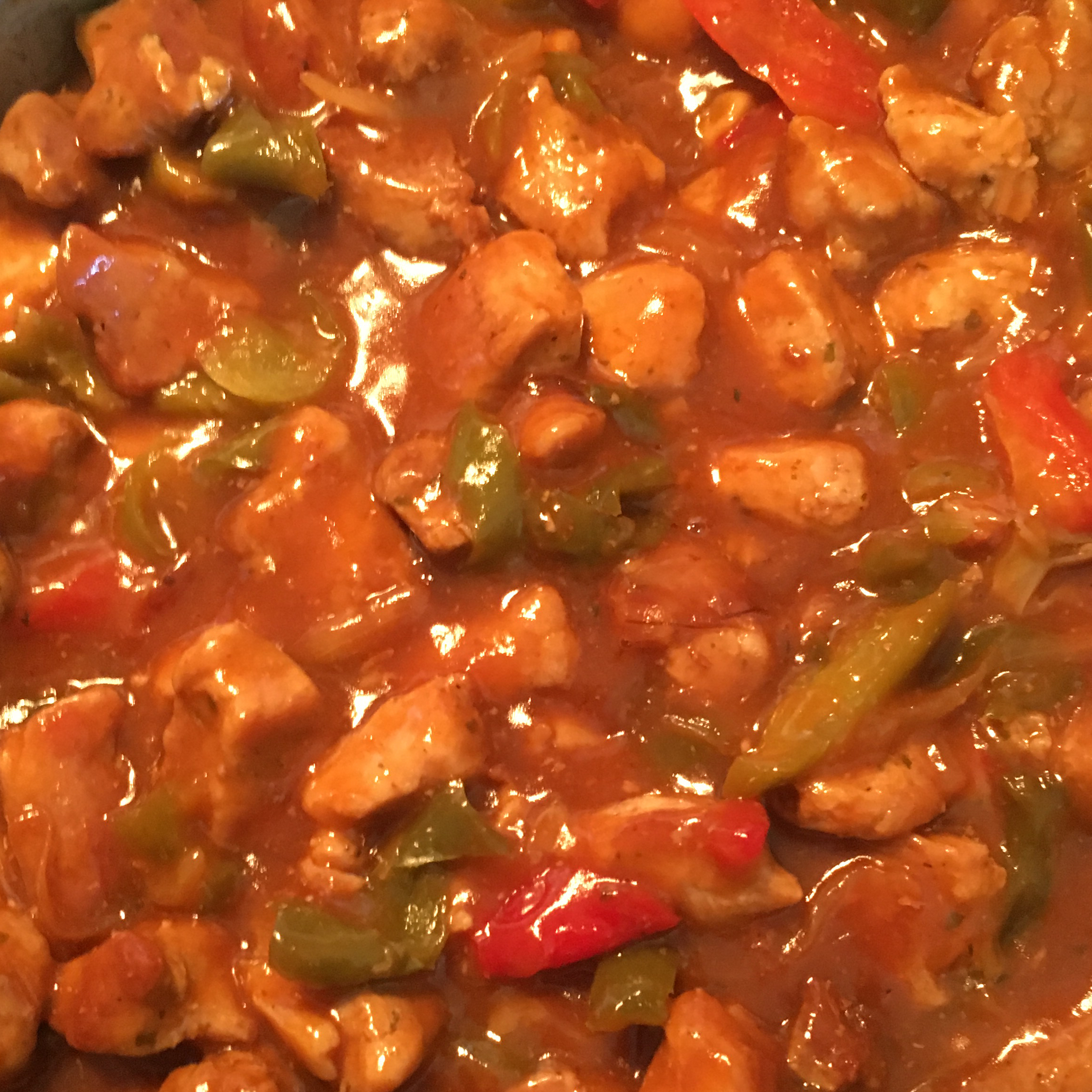 Sweet and Sour Pepper Pork Rita Juskiene
