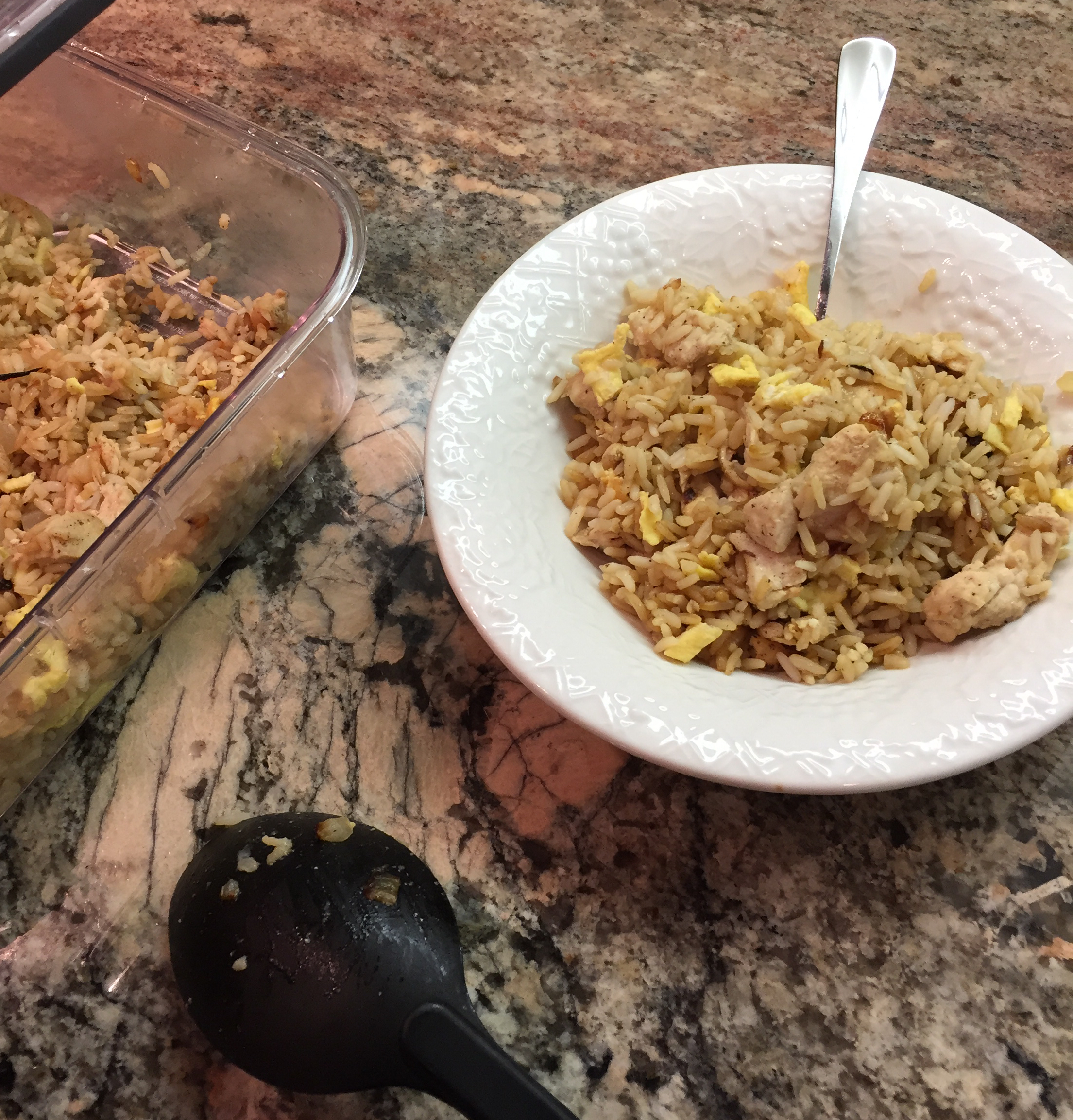 Chinese Chicken Fried Rice II Will J