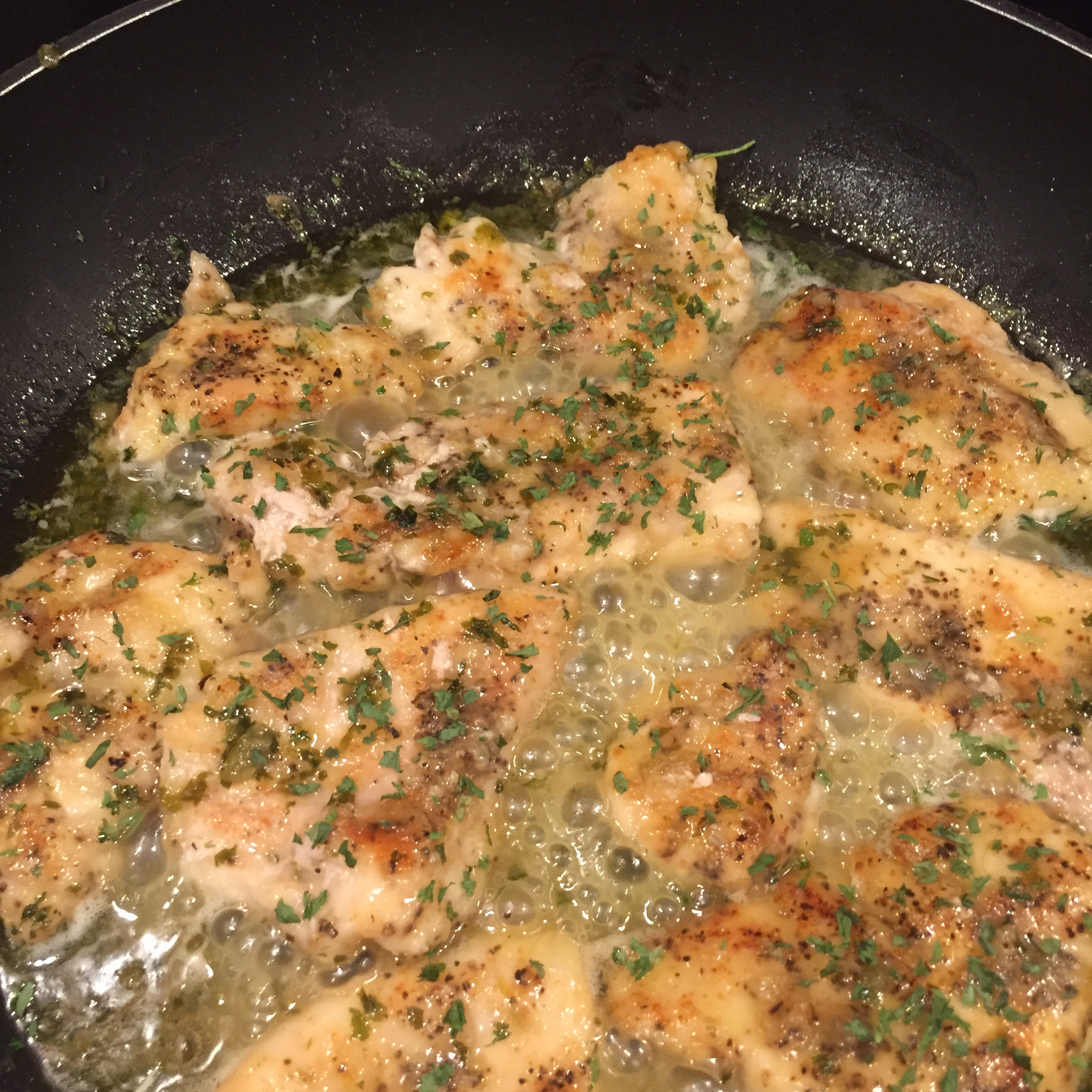 Quick Chicken Piccata Elizabeth Cummings