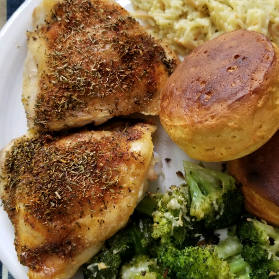 Crispy and Tender Baked Chicken Thighs Shann.barrios