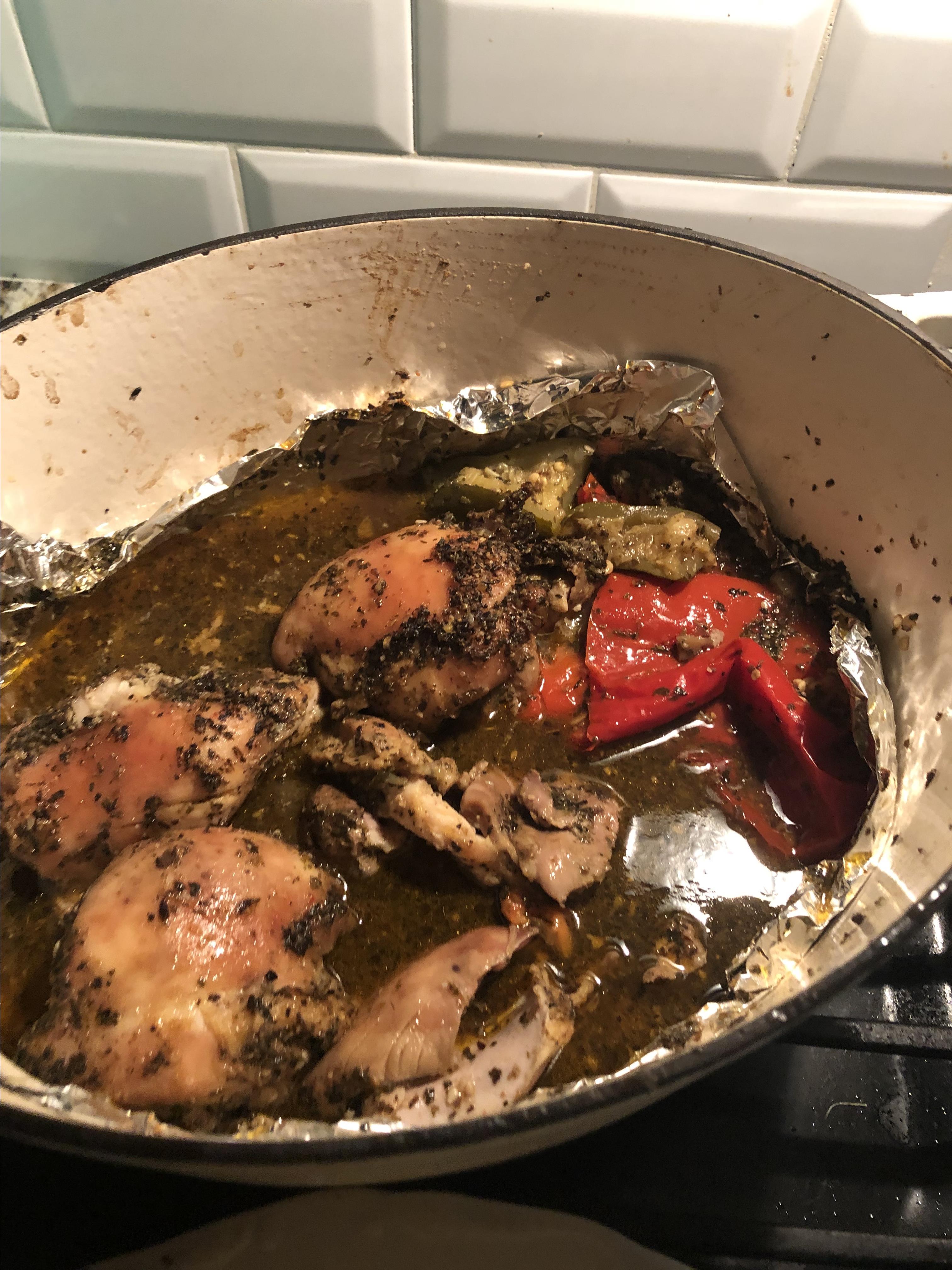 Crispy and Tender Baked Chicken Thighs Maahmah