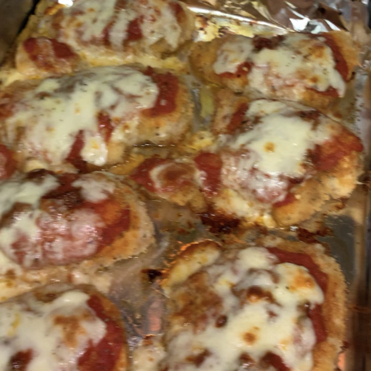 Chicken Parmesan QueenCrystal