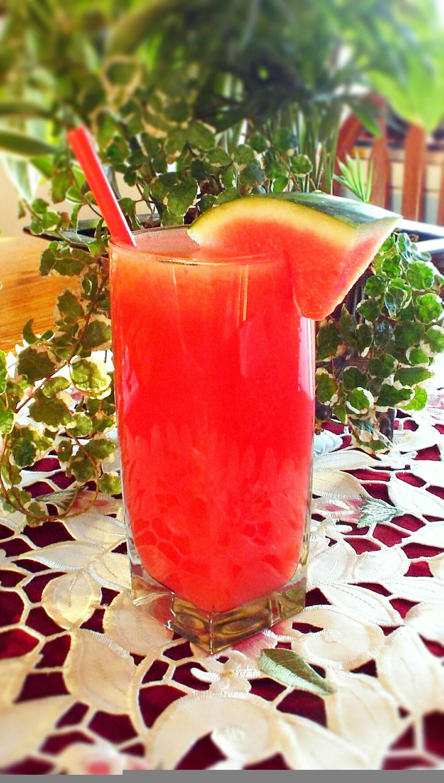 Agua Fresca de Sandia (Watermelon Agua Fresca)