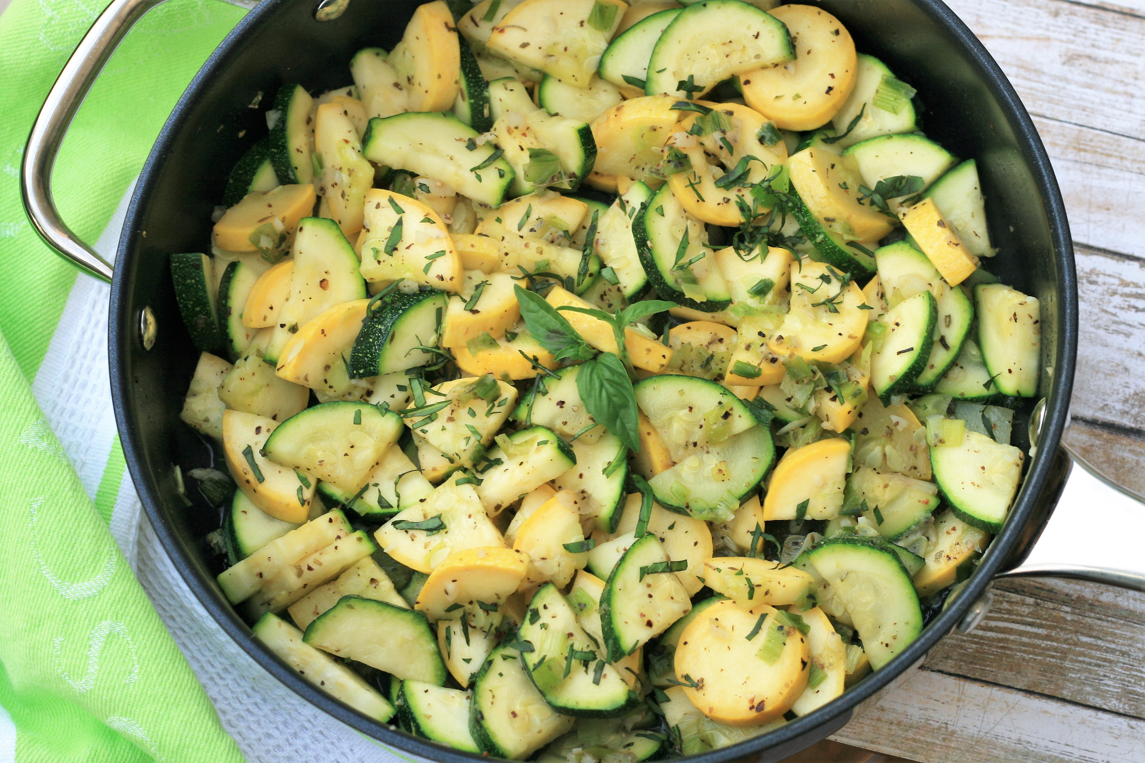 Sauteed Summer Squash Side Dish