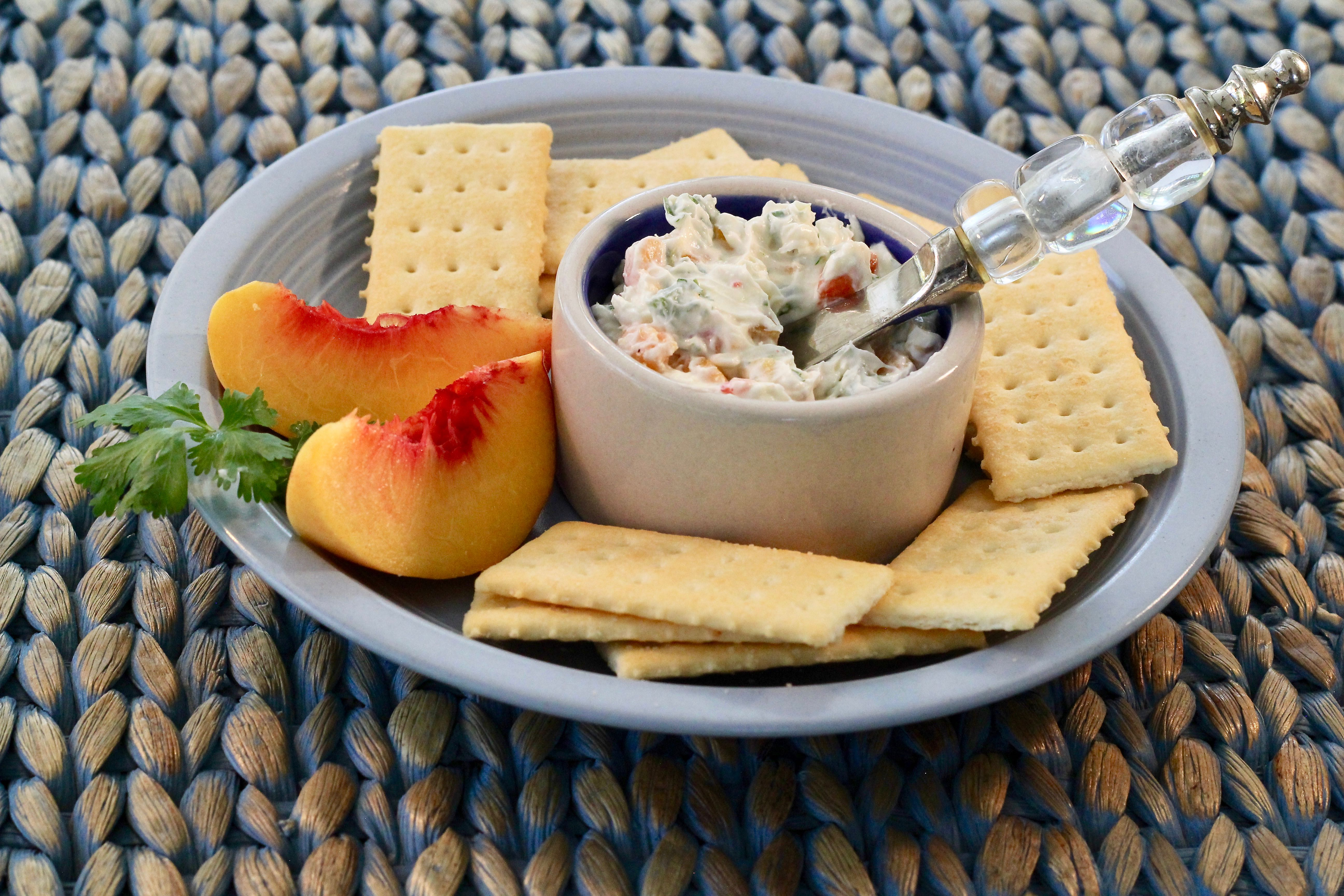 Sweet-and-Spicy Peach Spread