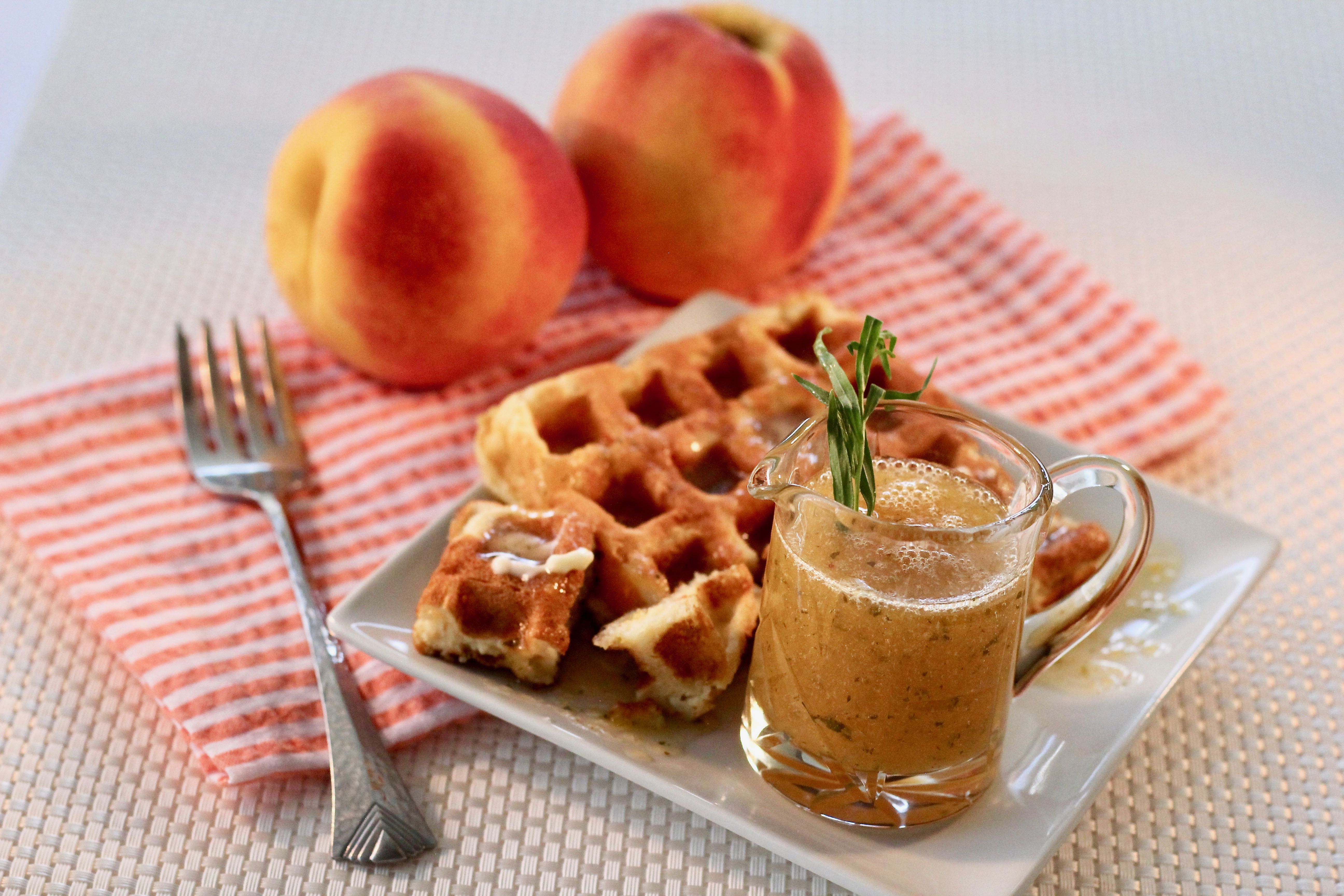 Peach-Tarragon Syrup