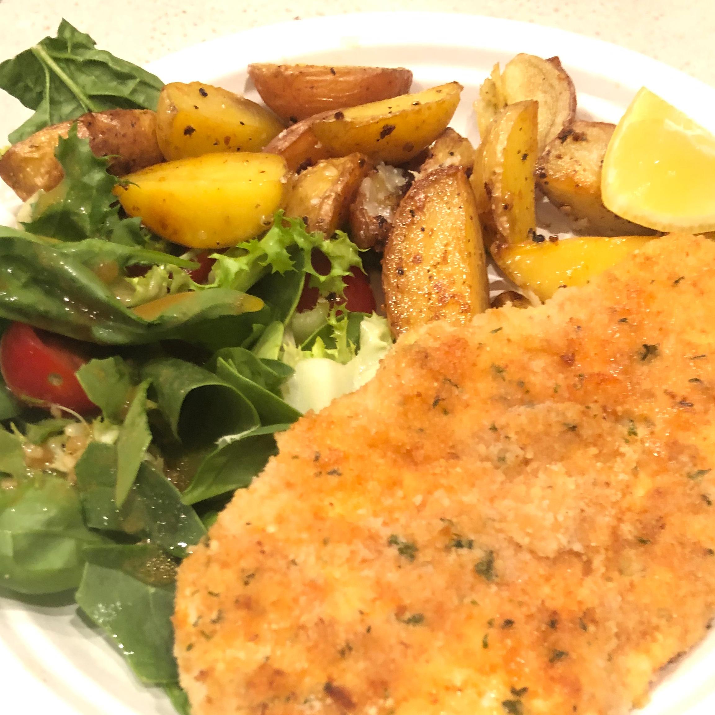 Baked Chicken Schnitzel Maxwell Valentine