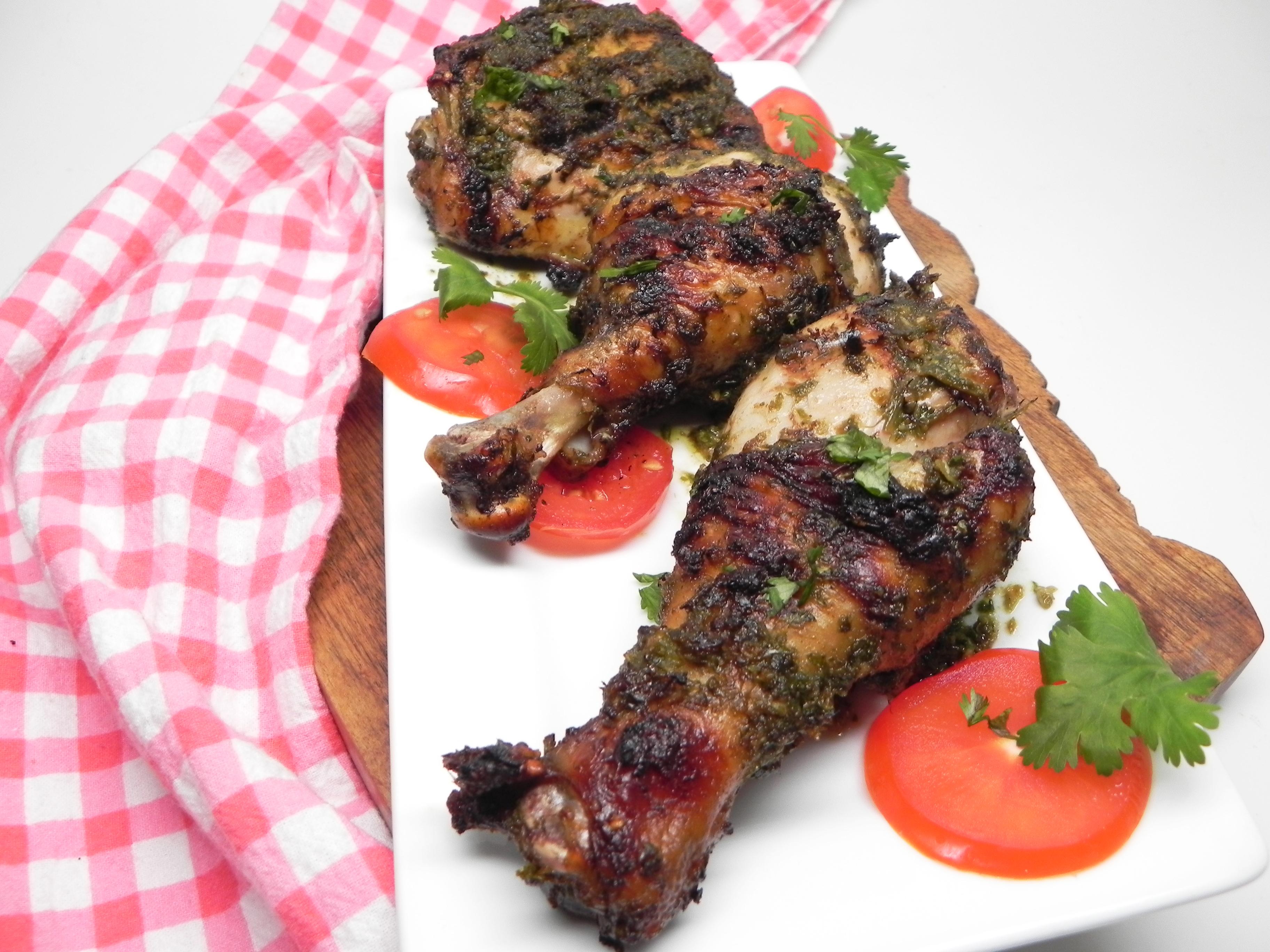 Jalapeno-Cilantro Grilled Chicken