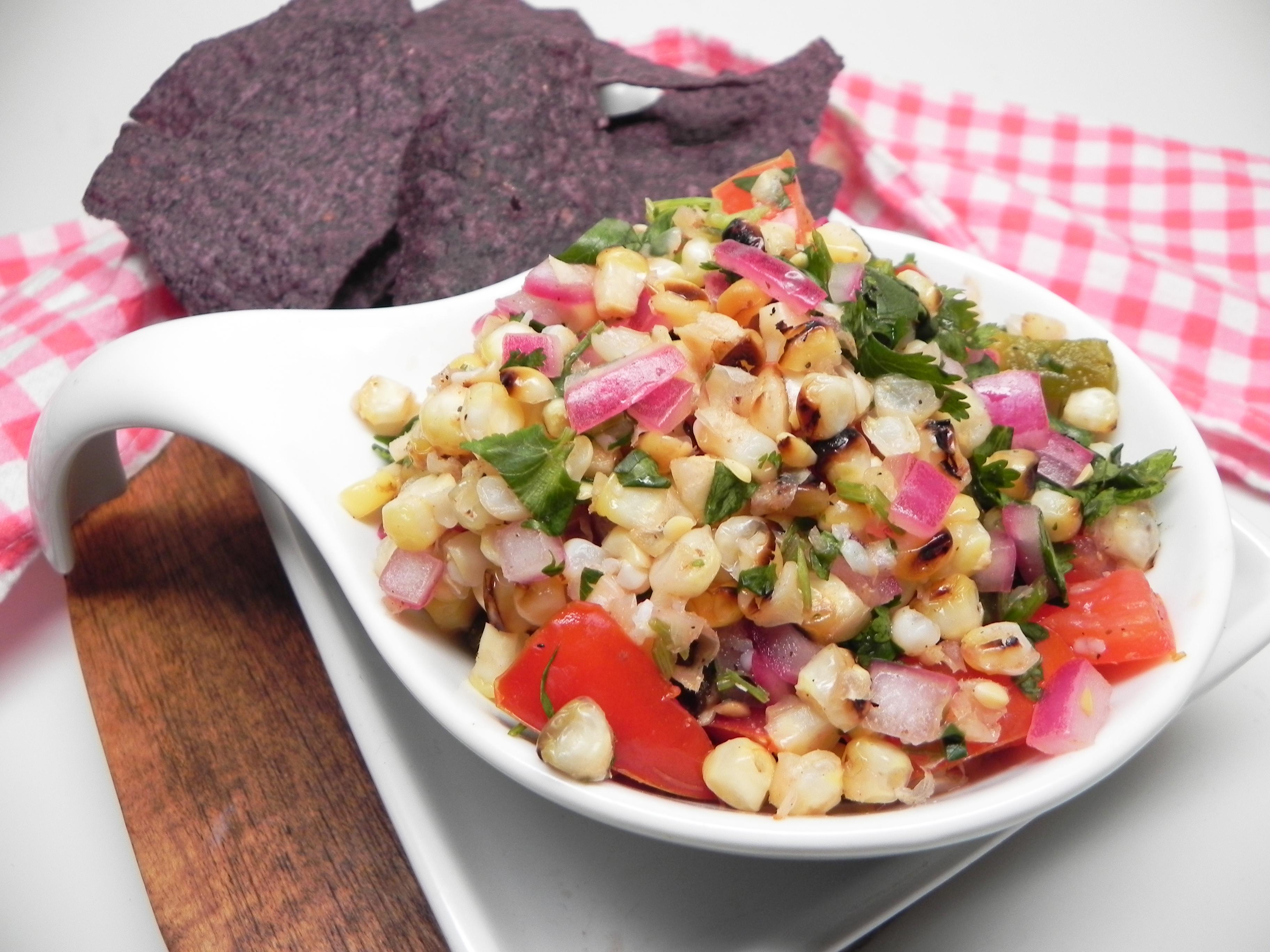 Fire-Roasted Corn Salsa