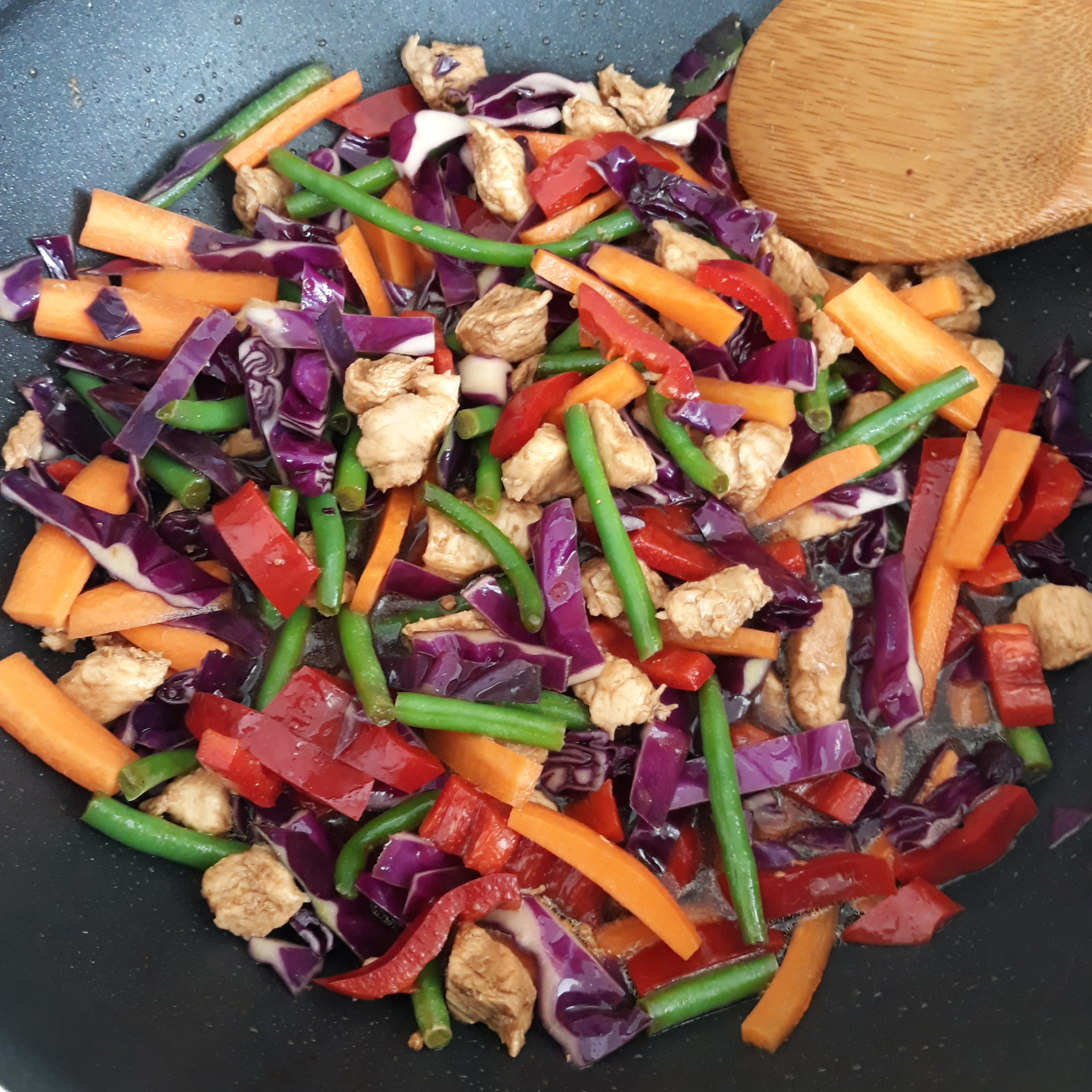 Stir-Fried Vegetables with Chicken or Pork Authentic foodie