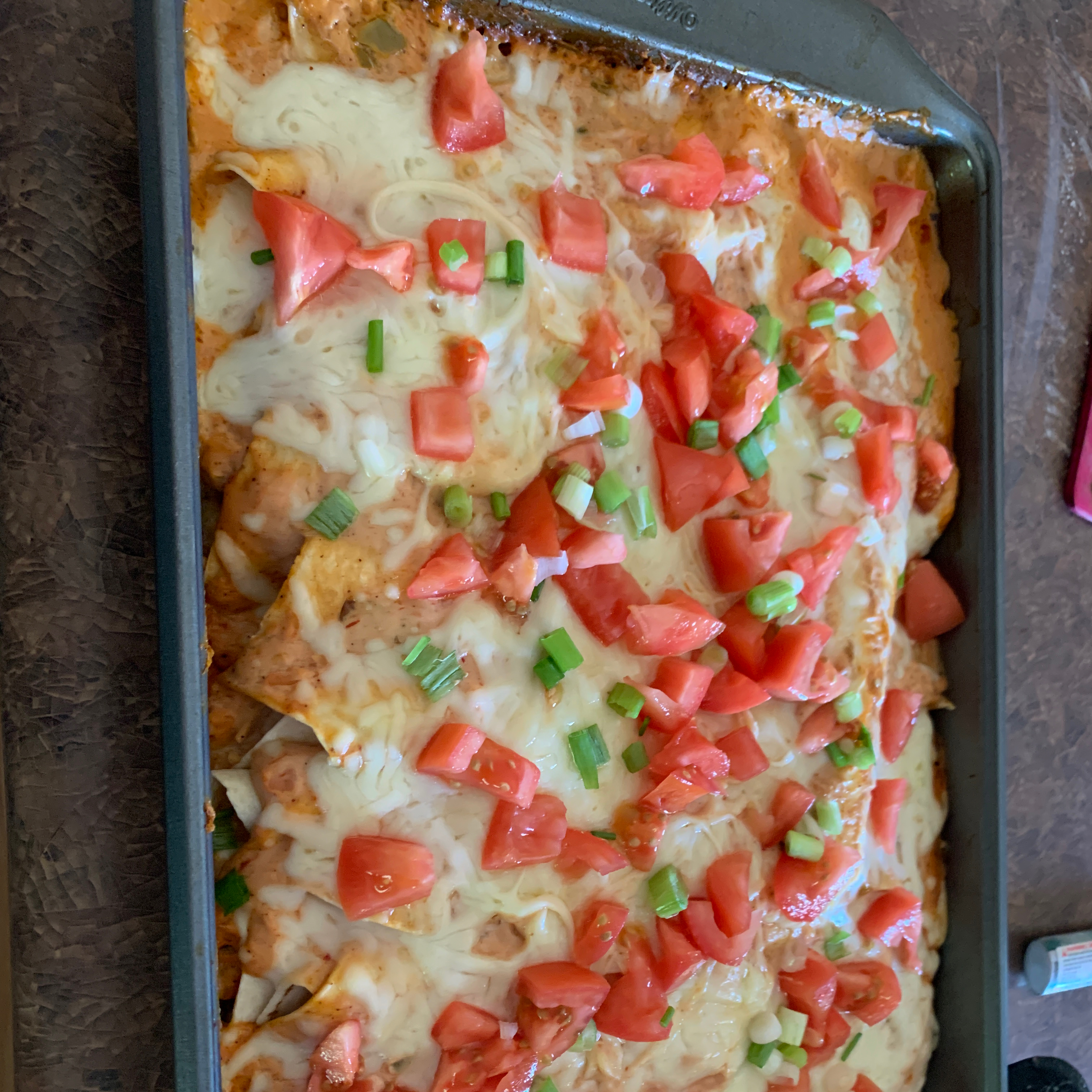 Campbell's(R) Easy Chicken and Cheese Enchiladas Thickgirl66