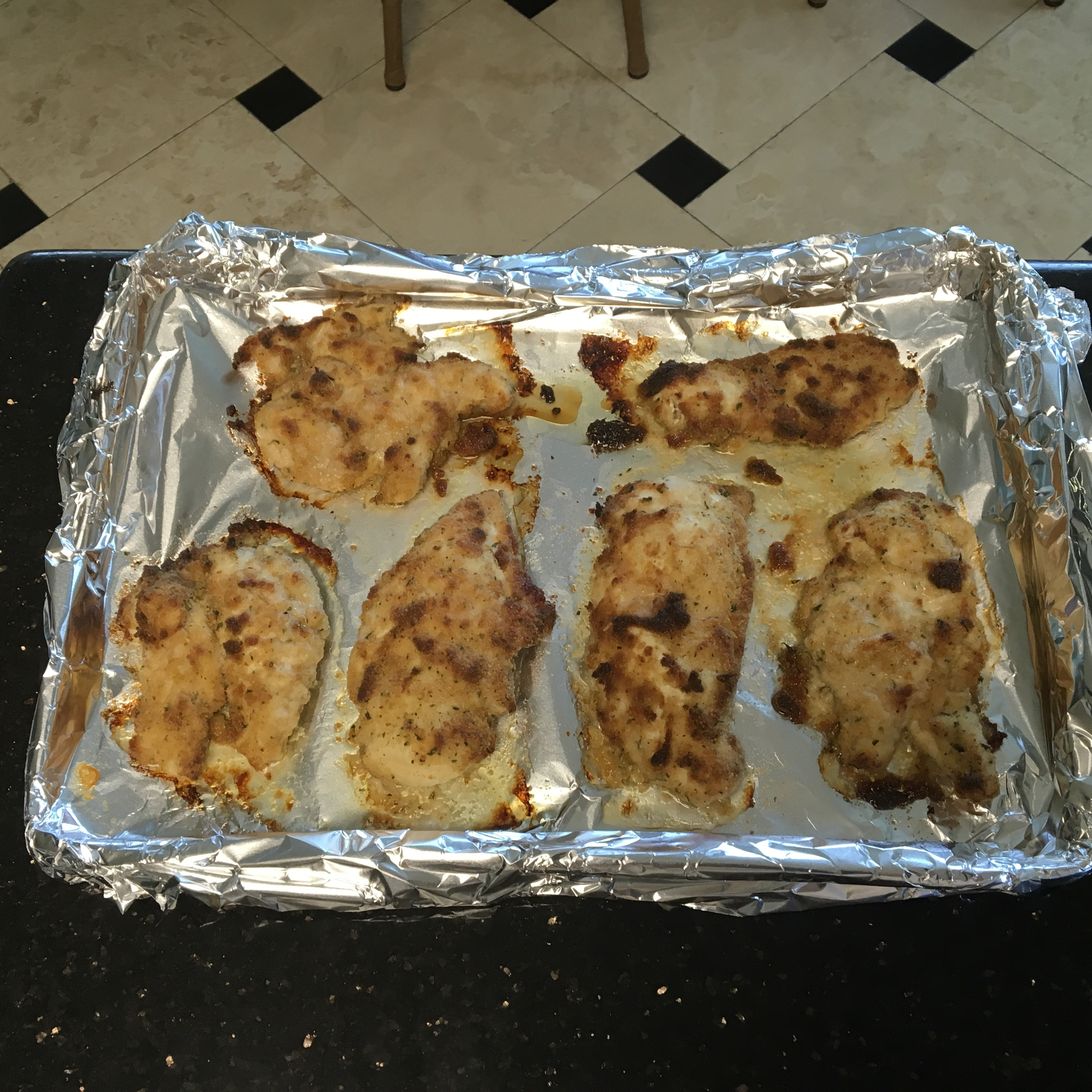 Tender Italian Baked Chicken