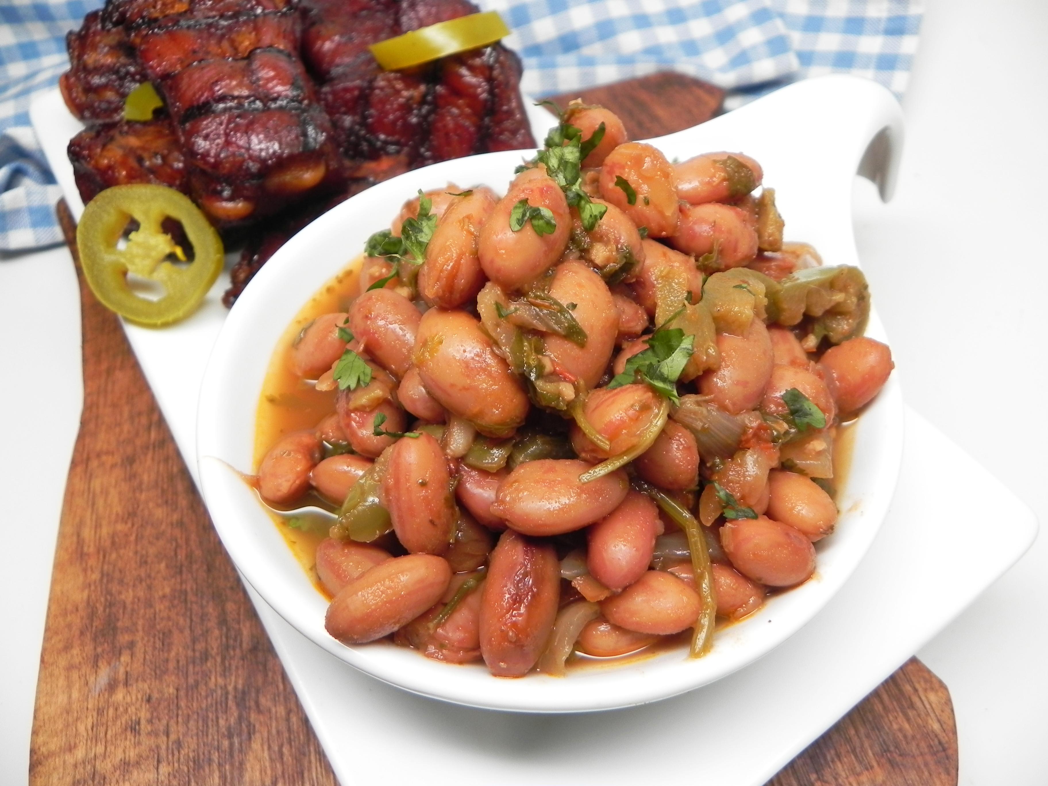 Instant Pot(R) Borracho Cranberry Beans