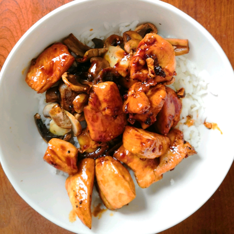 Sweet, Sticky and Spicy Chicken Fanny Arce