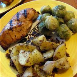 Pecan Roasted Potatoes Badcake Hotard