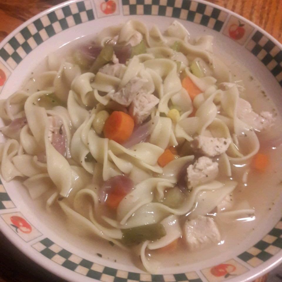 Quick and Easy Chicken Noodle Soup Michelle Seace Traino