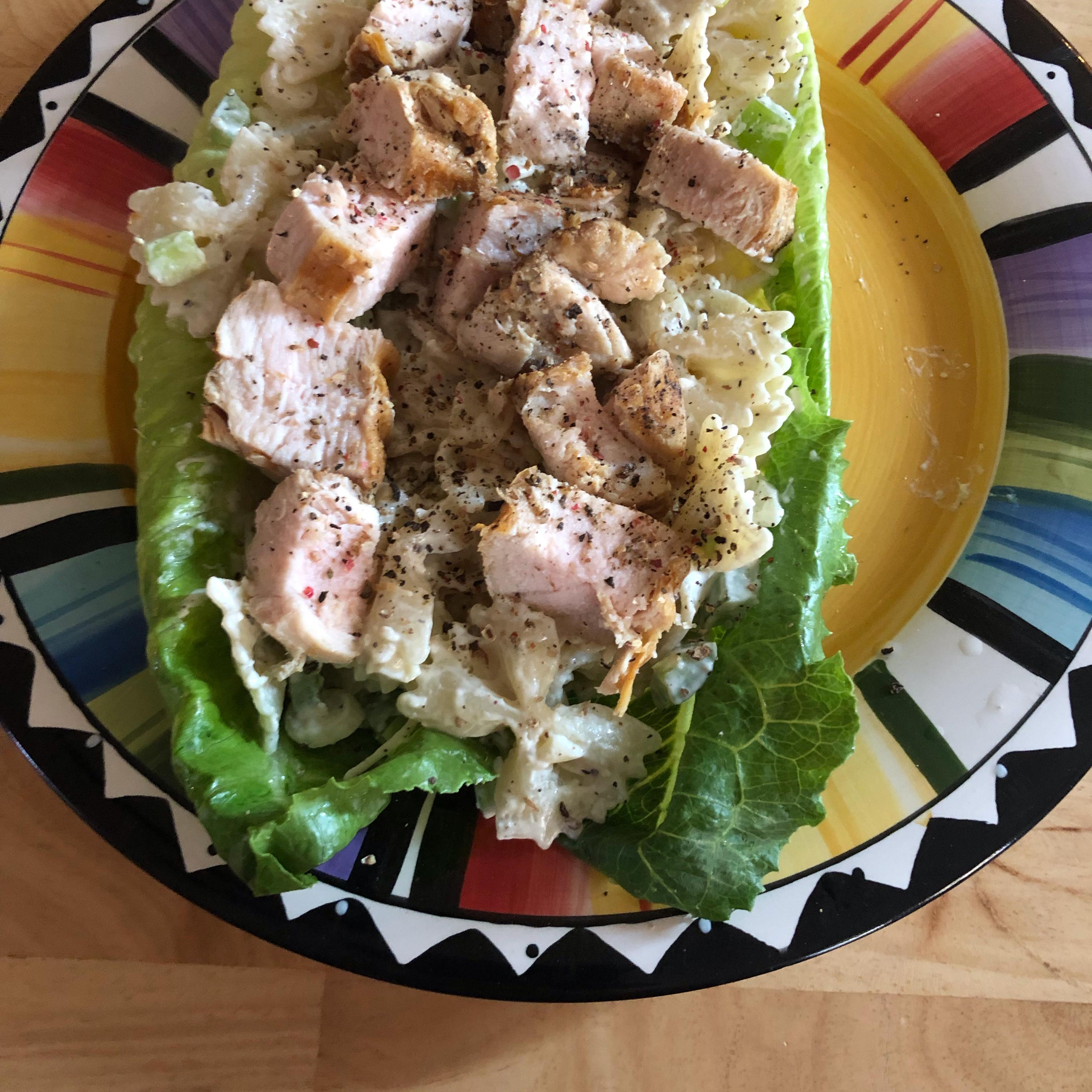 Chicken Caesar Pasta Salad VickiG