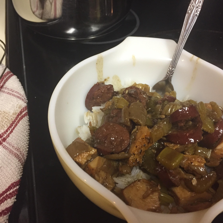 Cajun Chicken and Sausage Gumbo Aaron Vannoy
