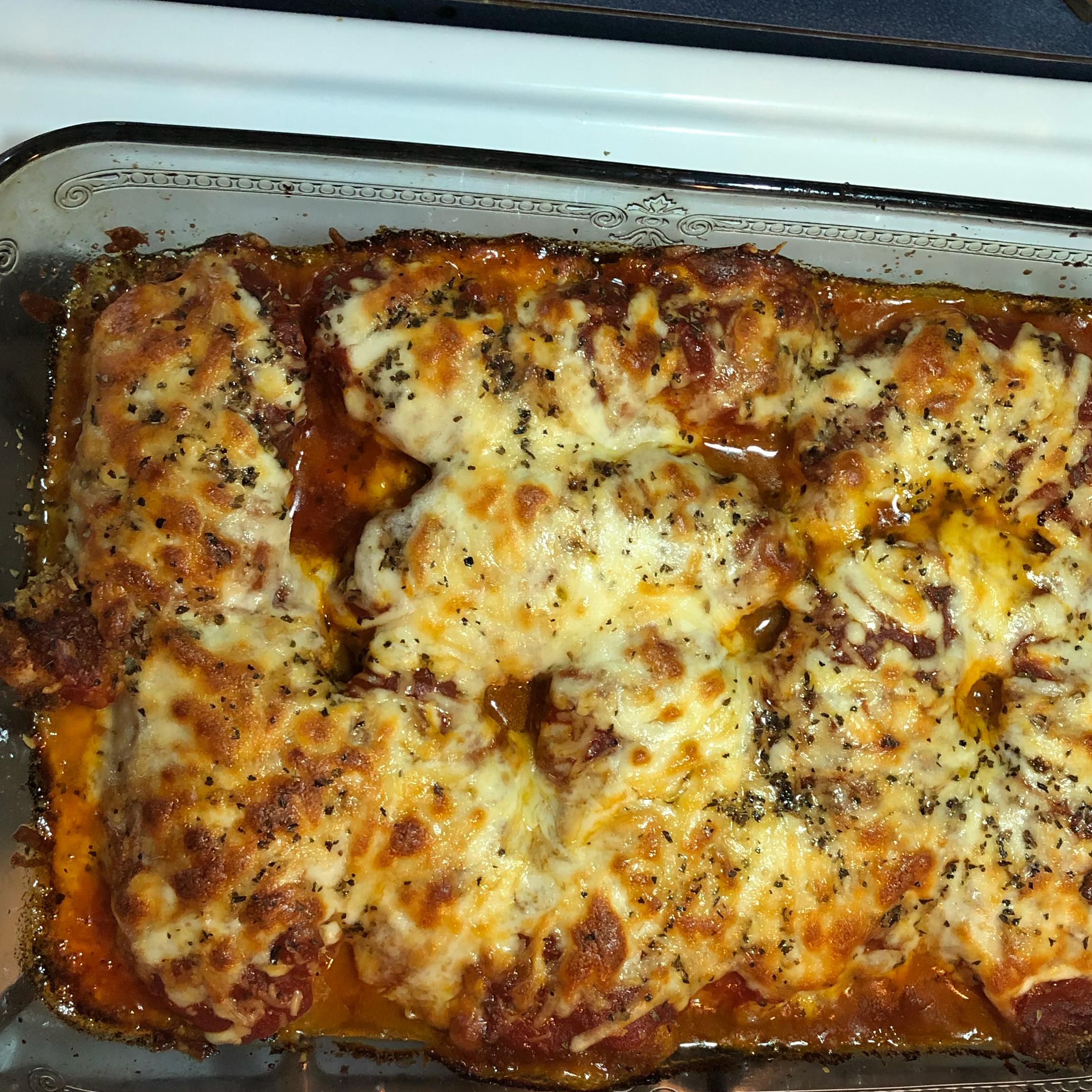 Chicken Parmesan Rich