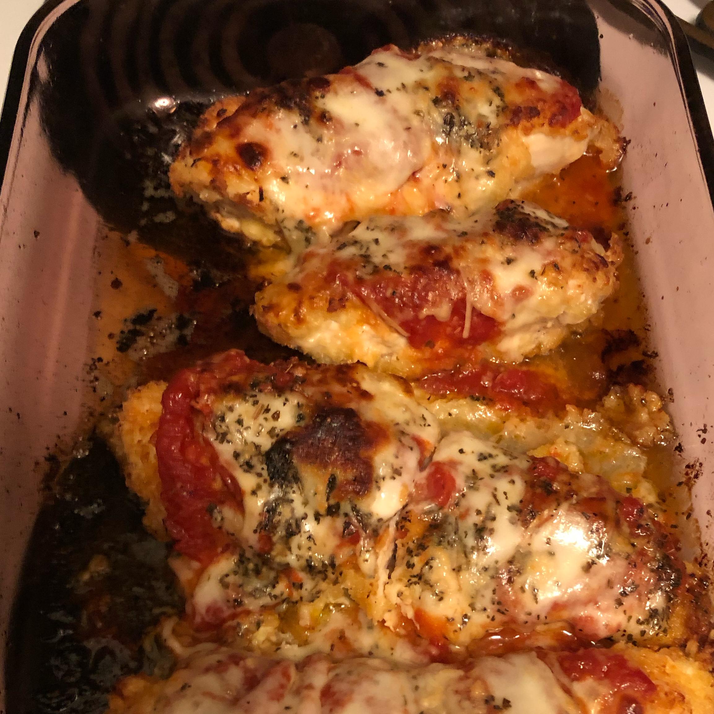 Chicken Parmesan Greg Stewart