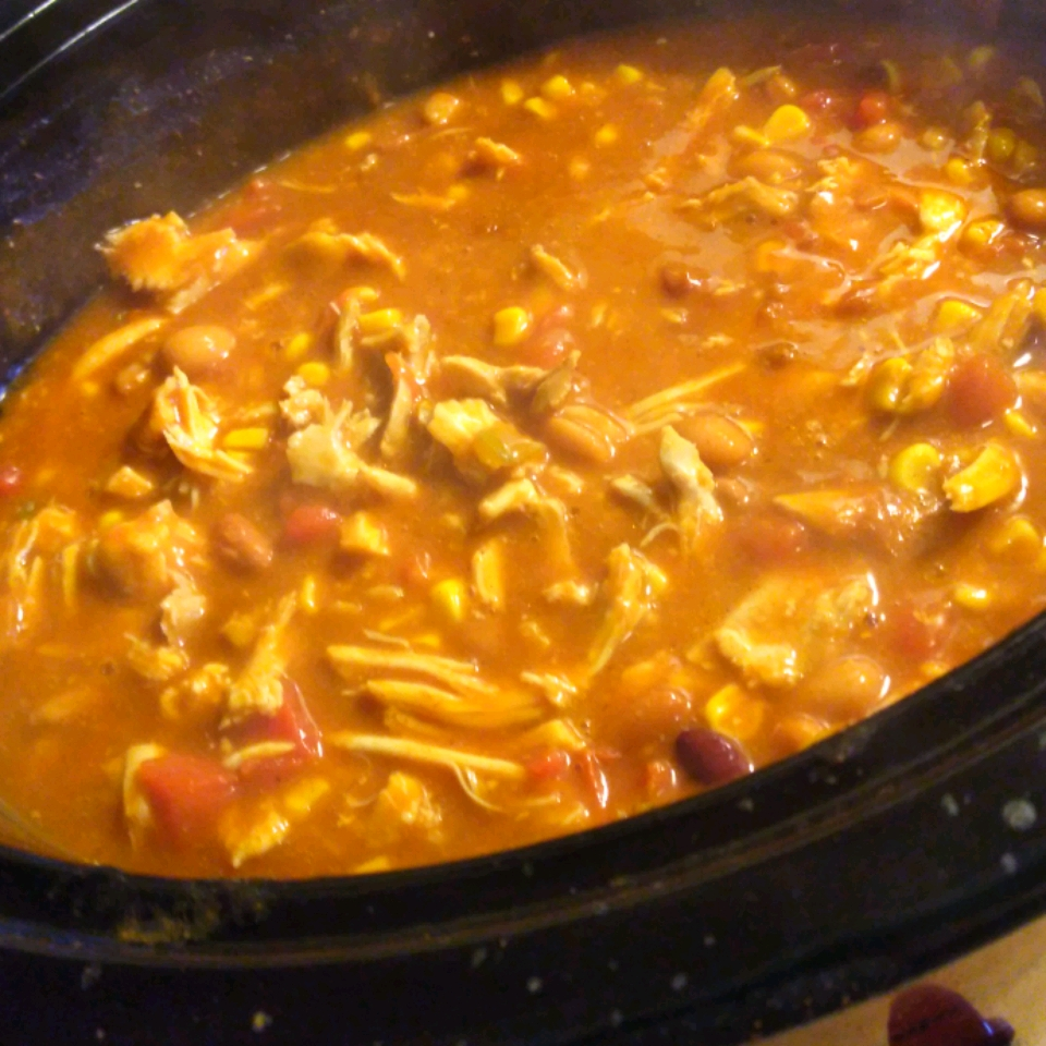 Slow Cooker Chicken Taco Soup Jaye