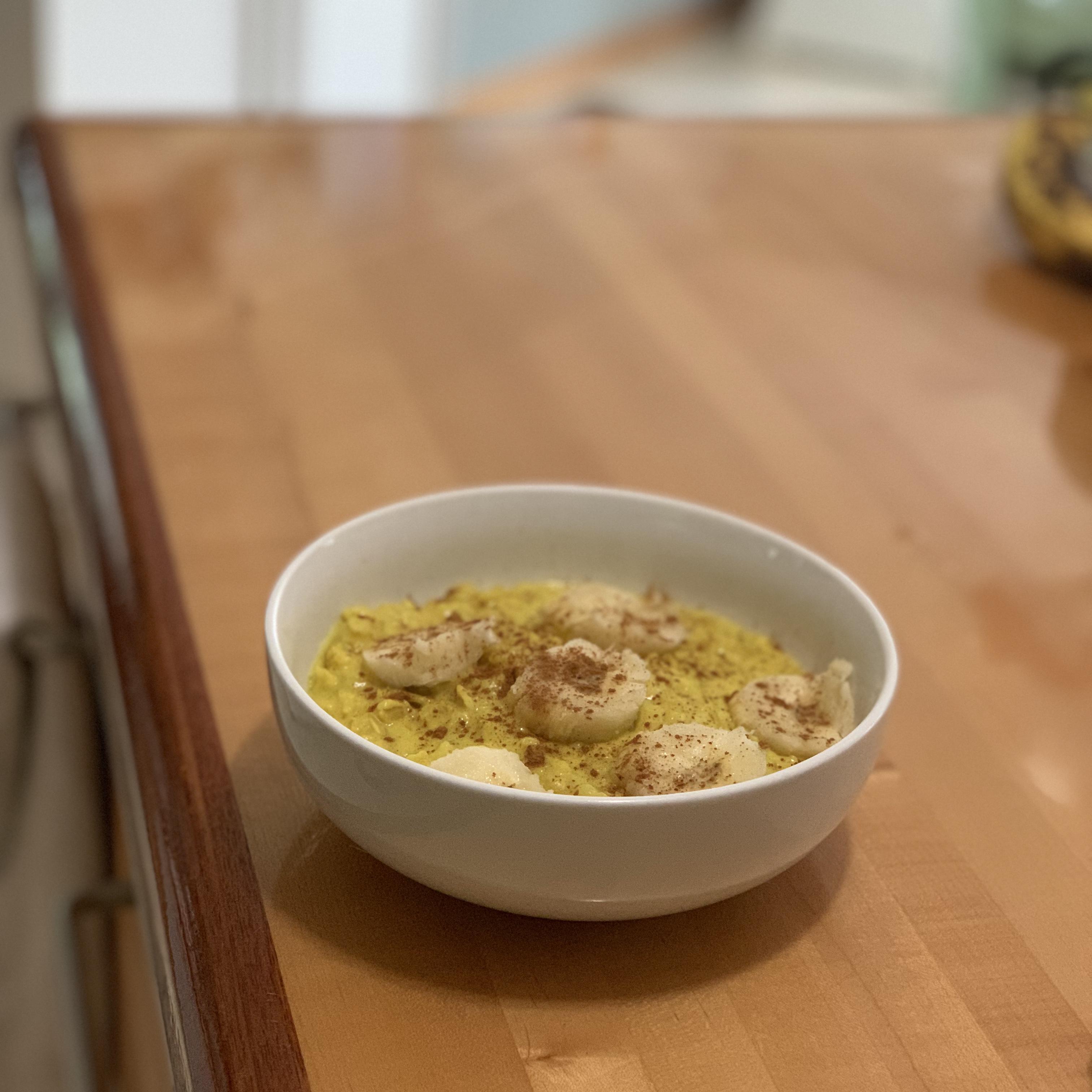 Golden Oatmeal Julia Bashir