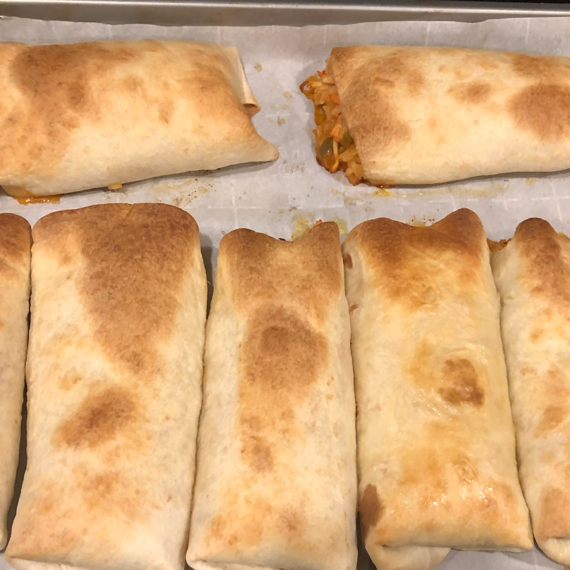 Baked Chicken and Rice Chimichangas Jennifer Utterback