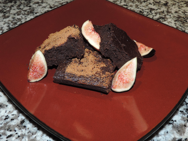 Chewy Vegan Zucchini Brownies