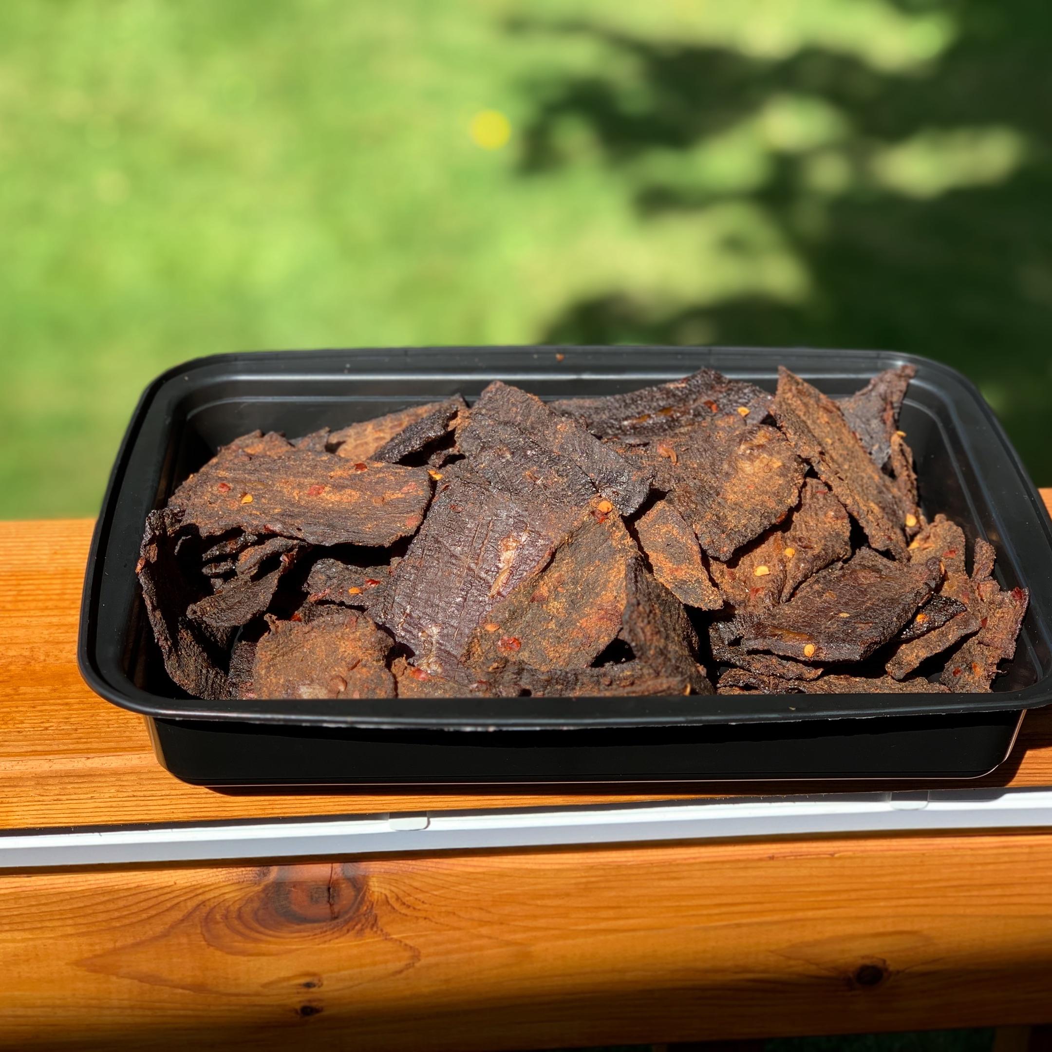 Homemade Beef Jerky_image