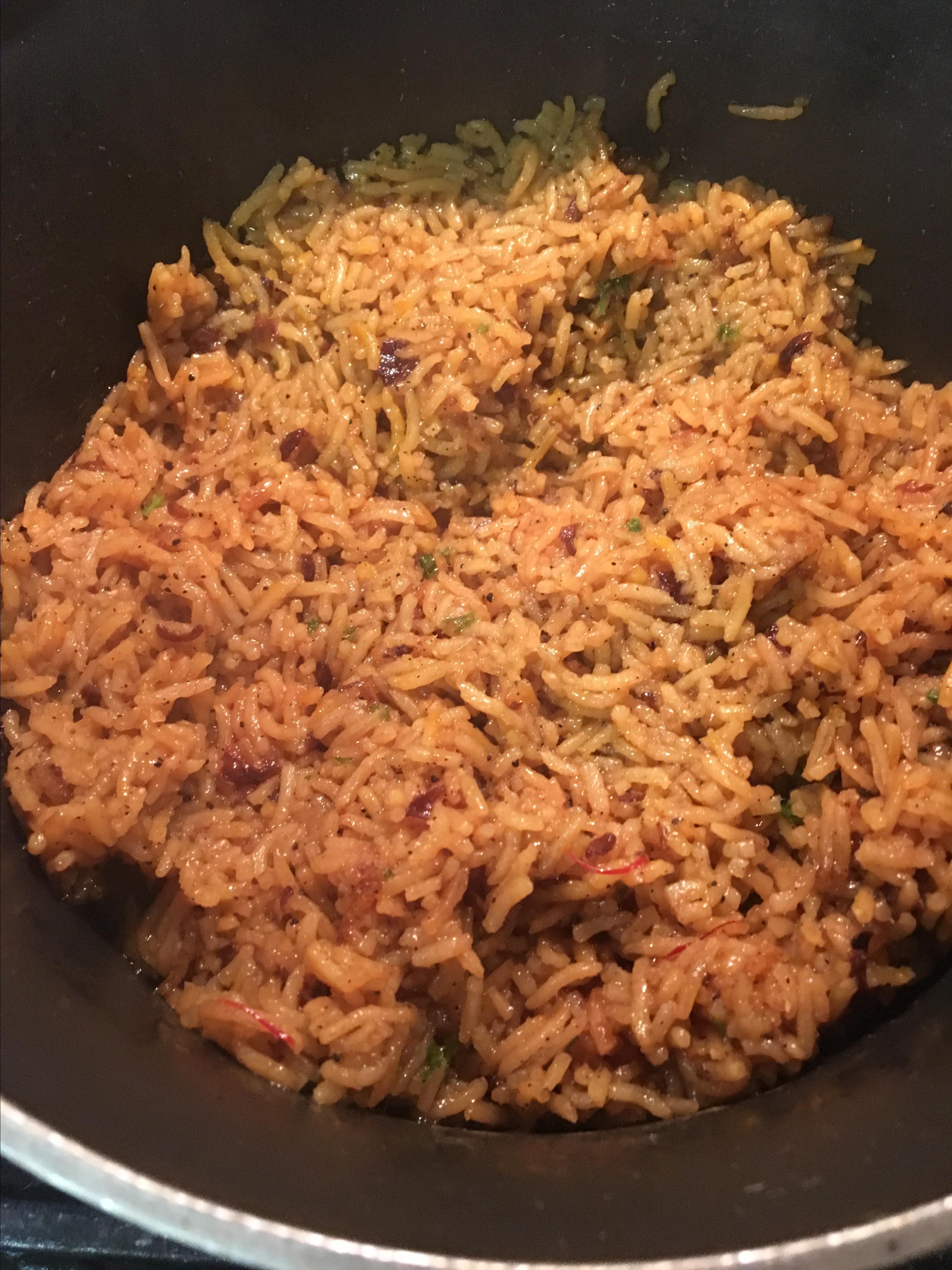 Saffron Rice image