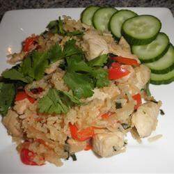 Thai Spicy Basil Chicken Fried Rice Elin Westlund