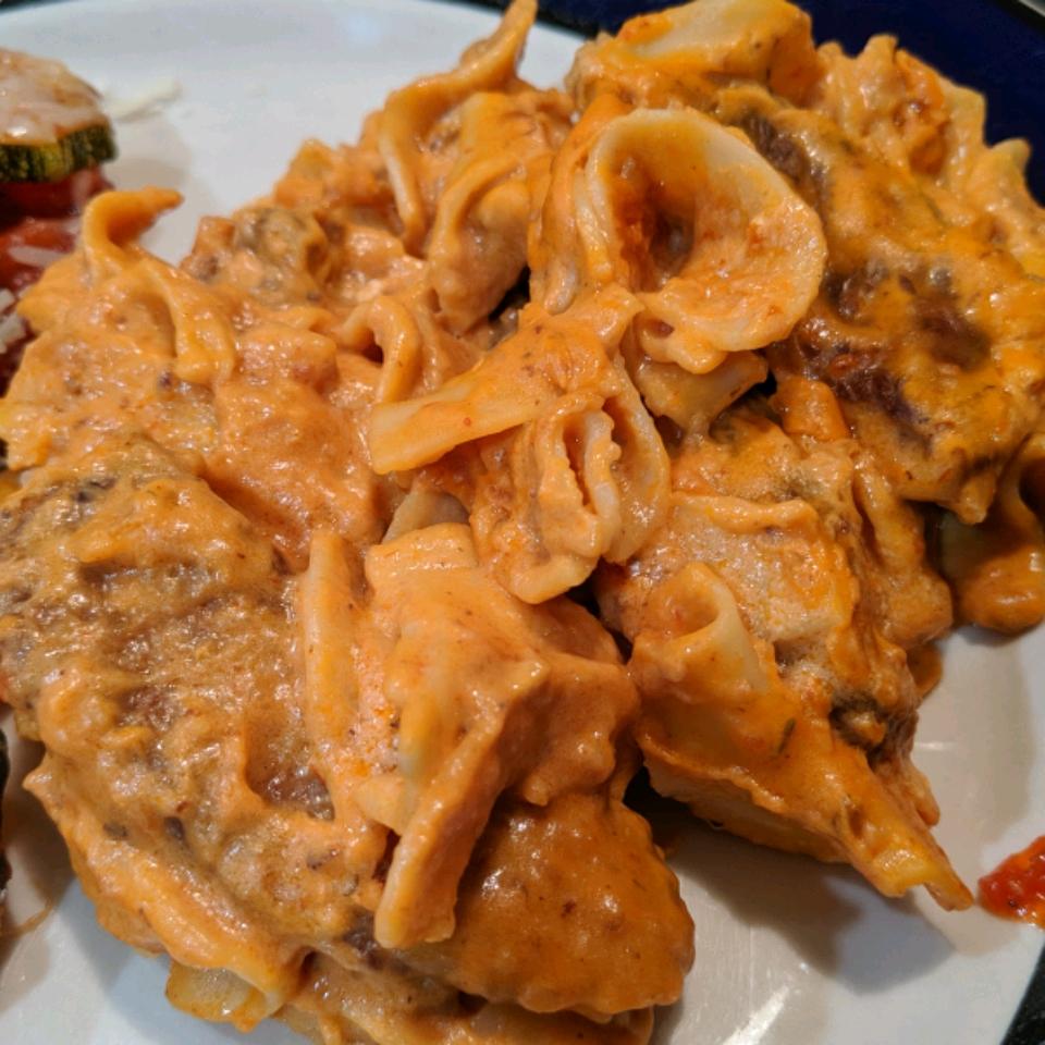 Nana's Beef Stroganoff