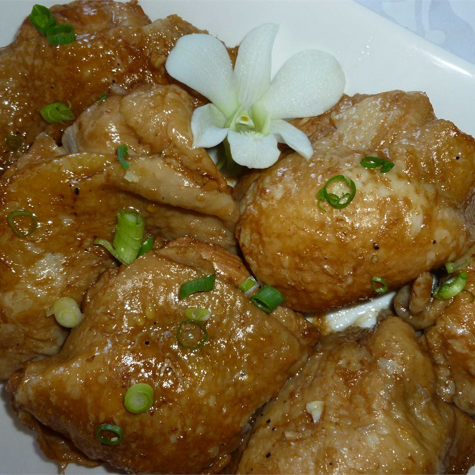 Adobo Chicken with Ginger COOKIEMONSTER64