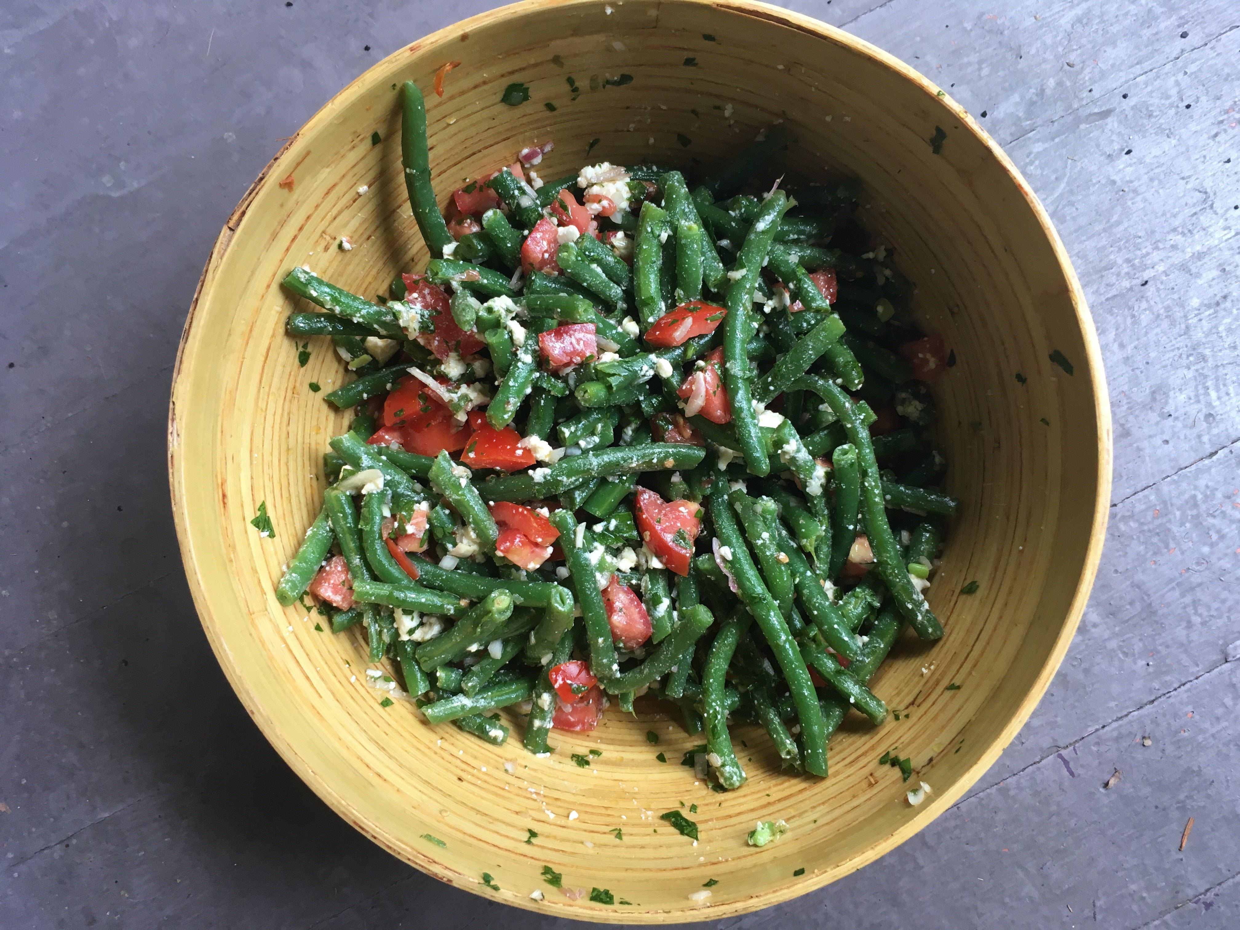 Green Bean Salad Recipe Feta
