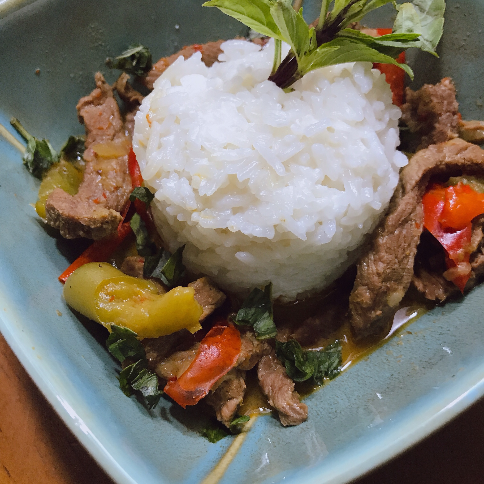 Instant Pot(R) Beef Panang Curry