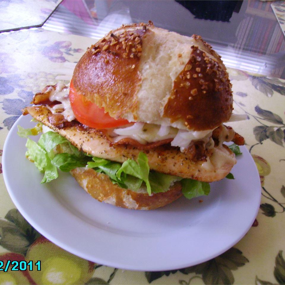 Bacon Jack Chicken Sandwich Christina