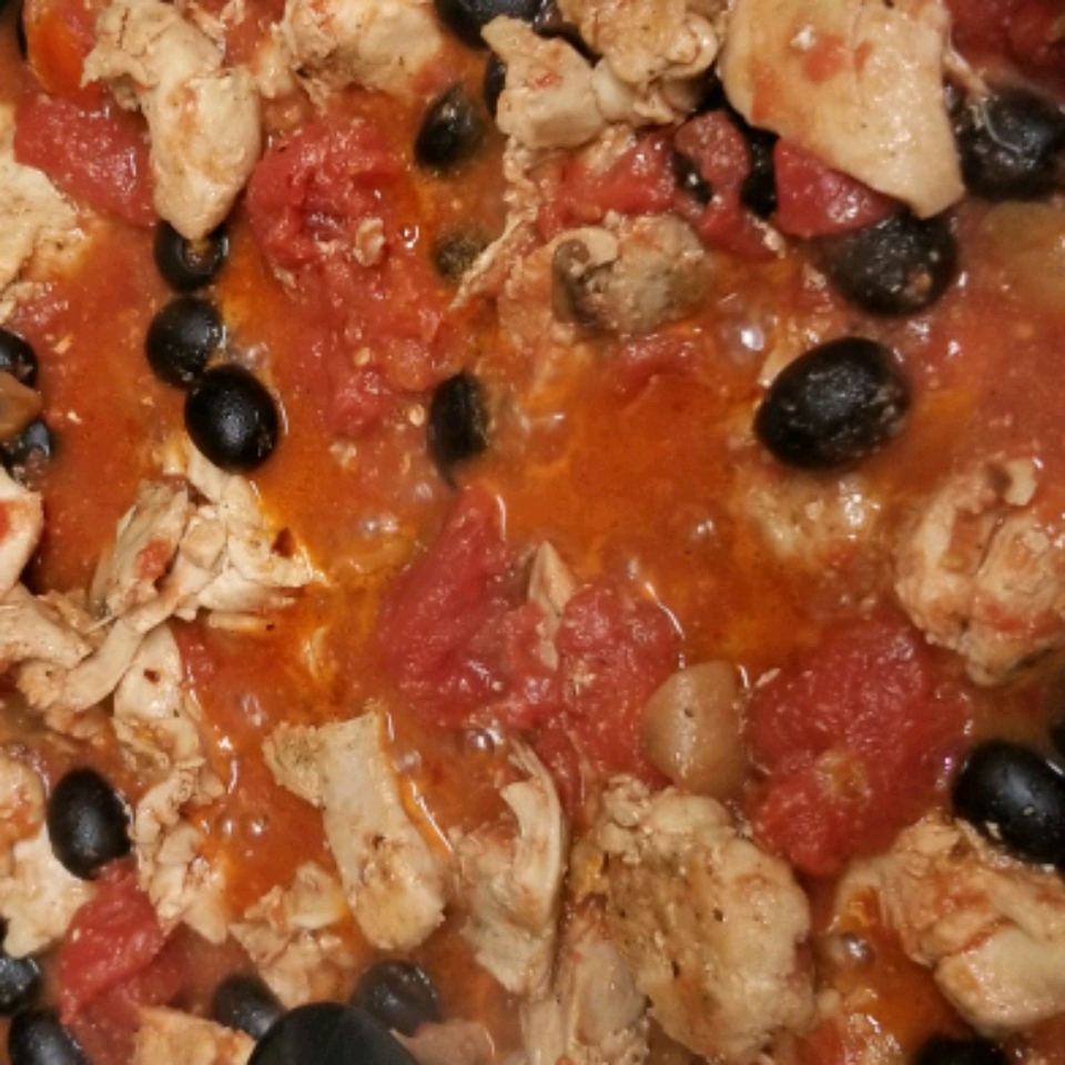 Quick and Easy Chicken and Tomato Pasta Nichele Bolender