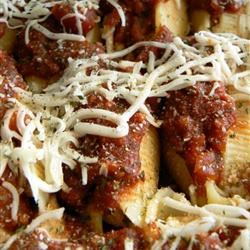 Tofu and Cheese Stuffed Shells Rachelle Shockey