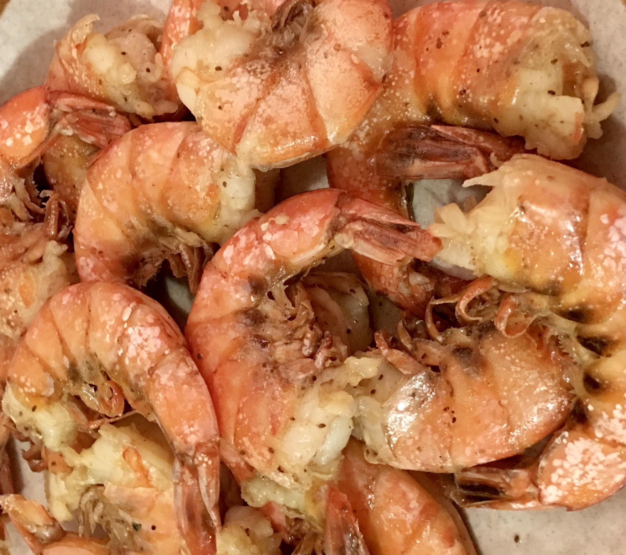 Overnight Beer-Boiled Shrimp