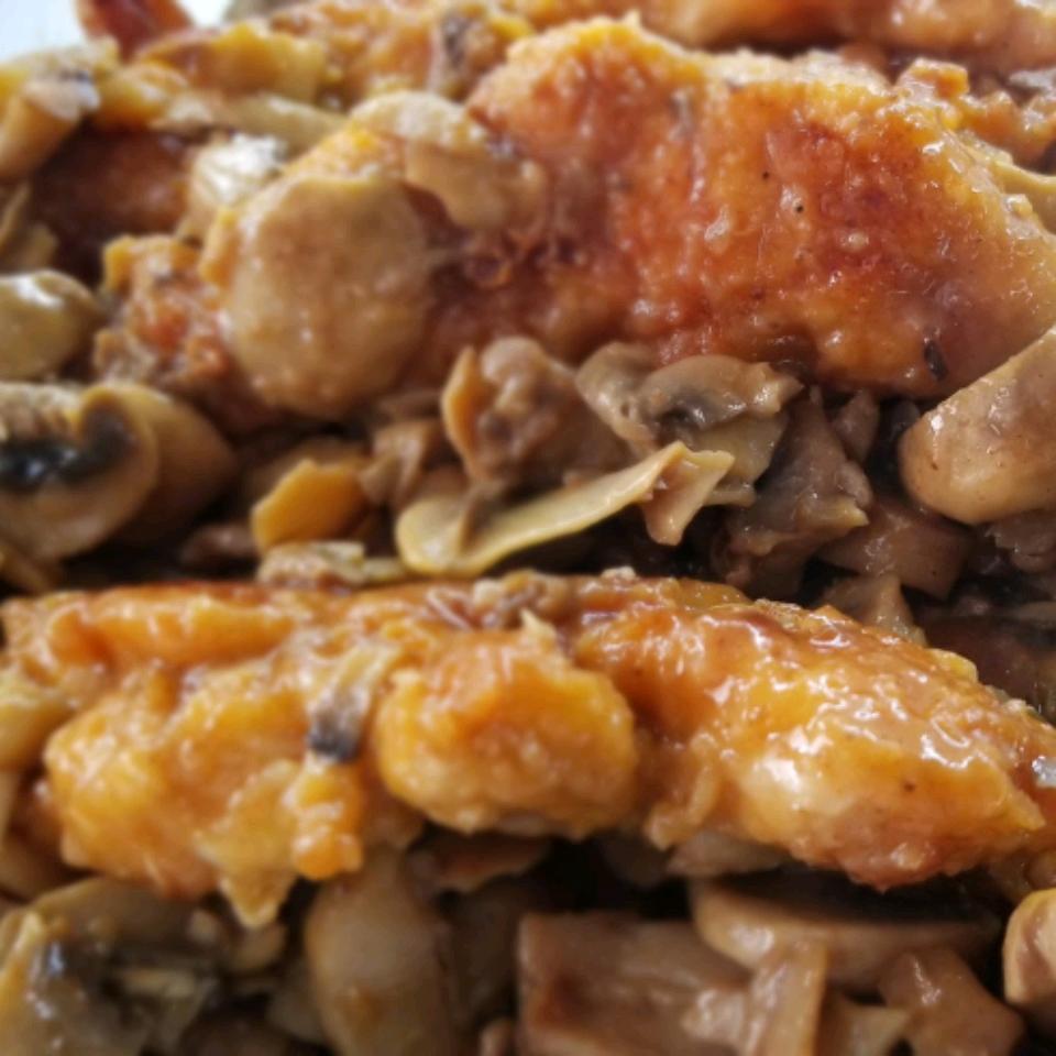 Chicken Marsala nina