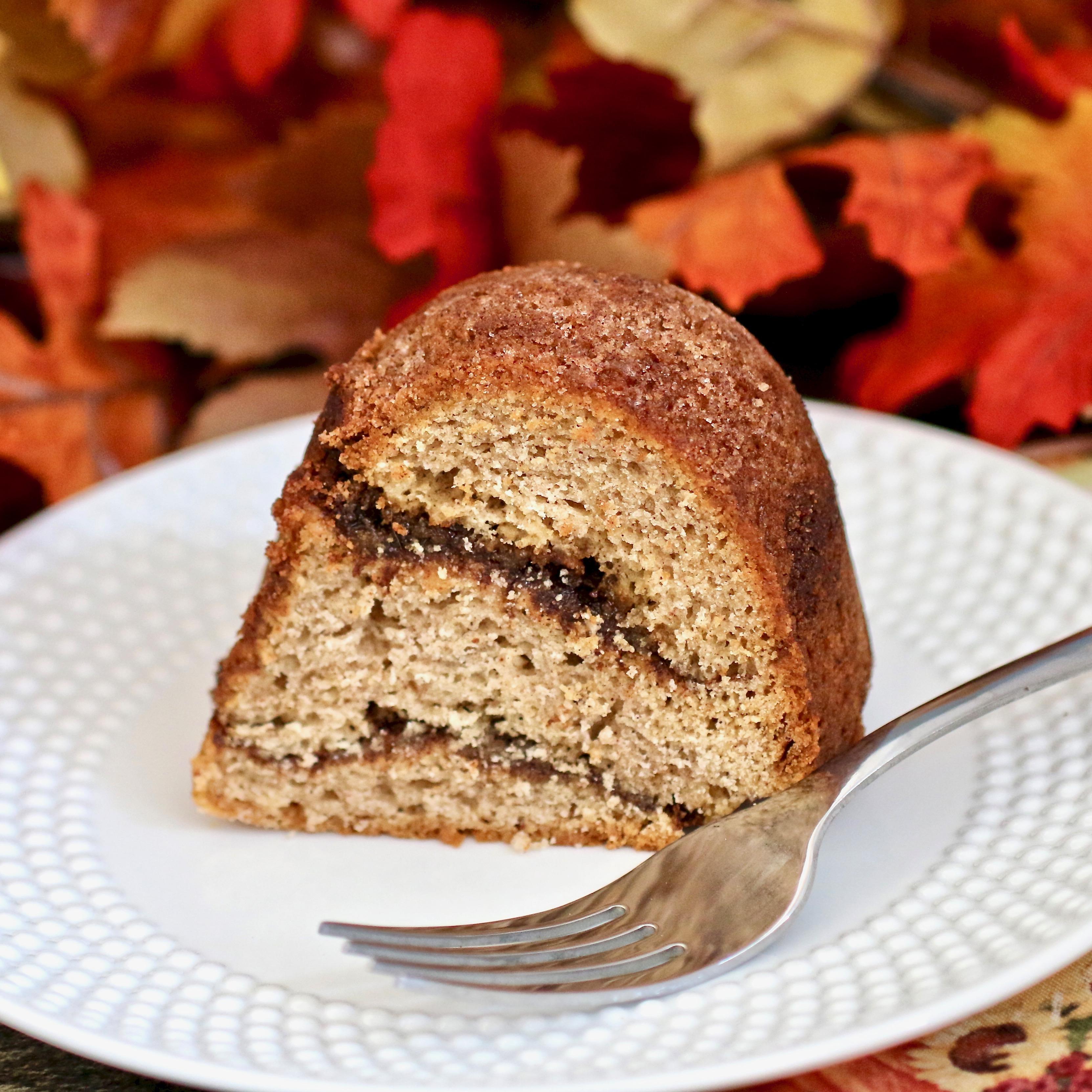 Pumpkin Swirl Coffee Cake