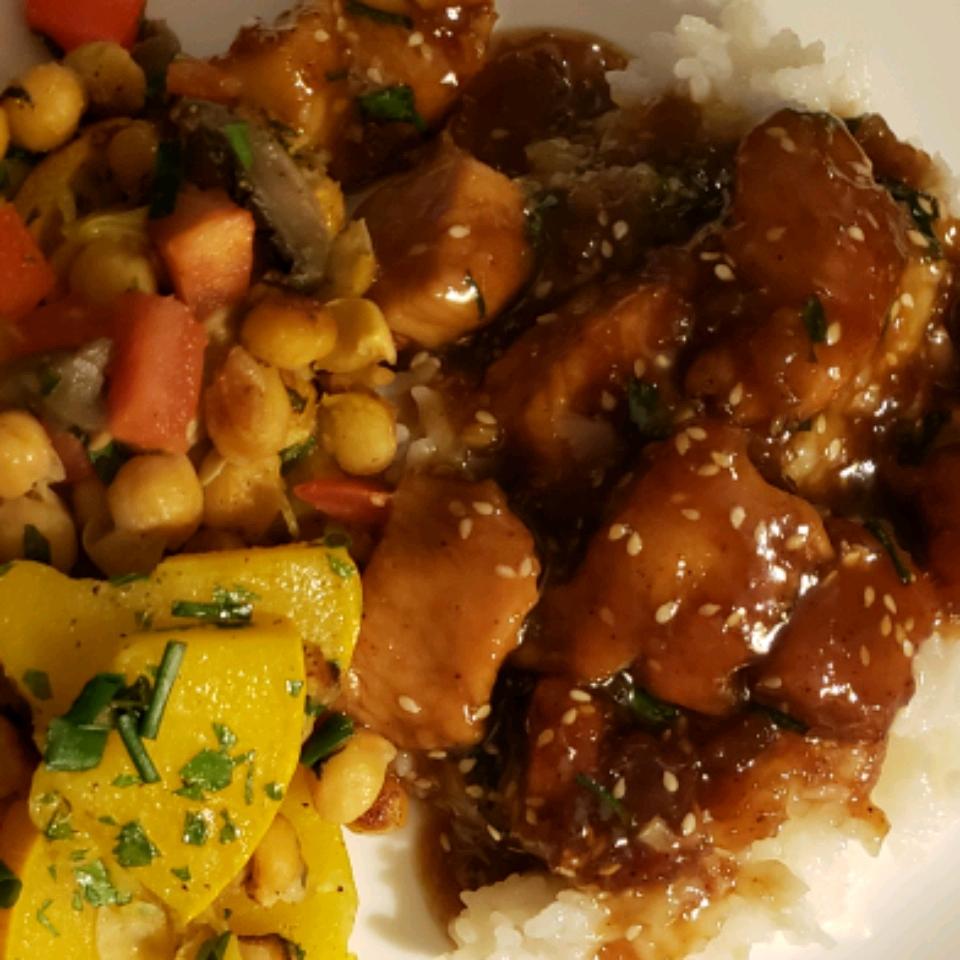 Honey-Garlic Sesame Chicken JeanBrideau