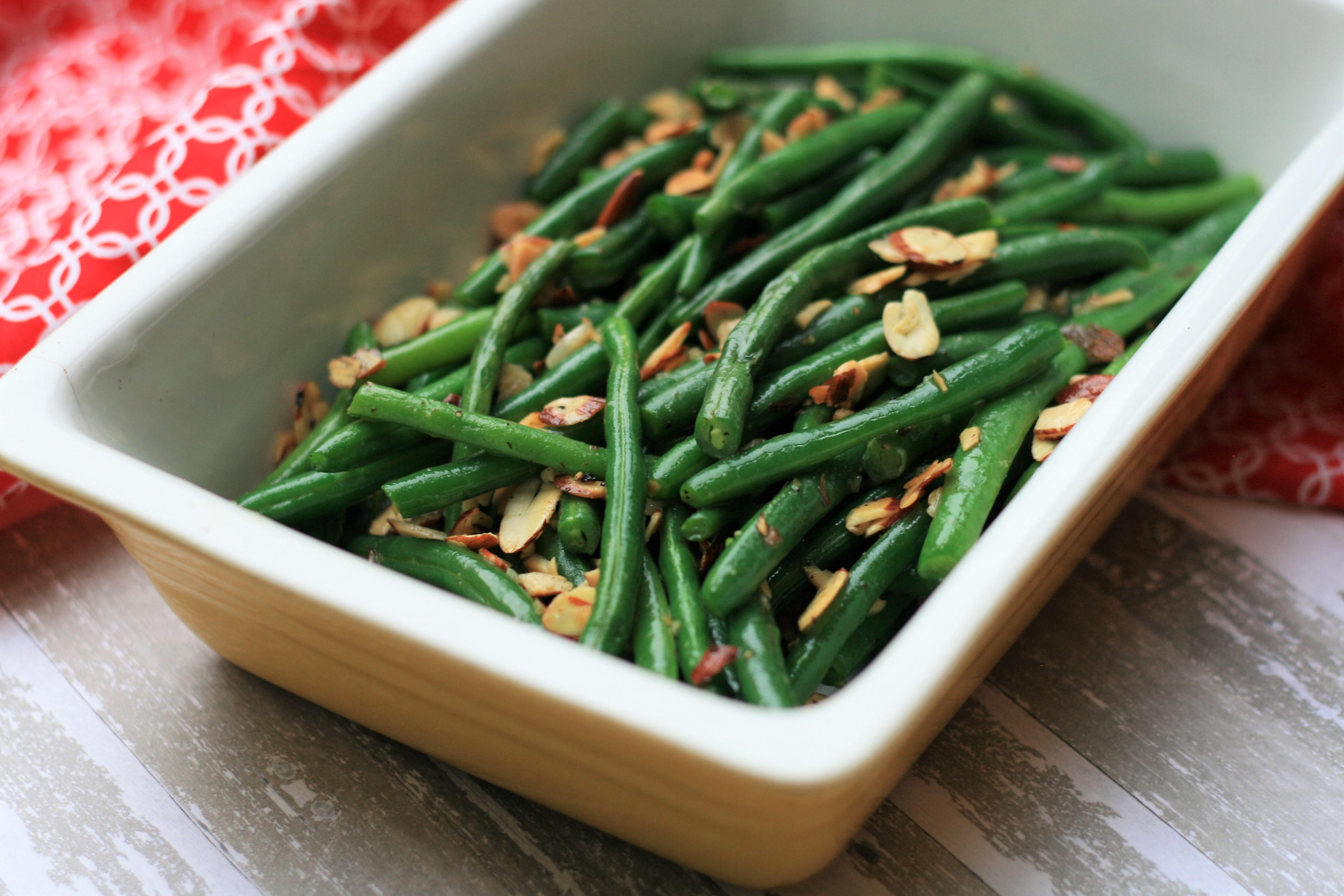 Green Beans Almondine_image
