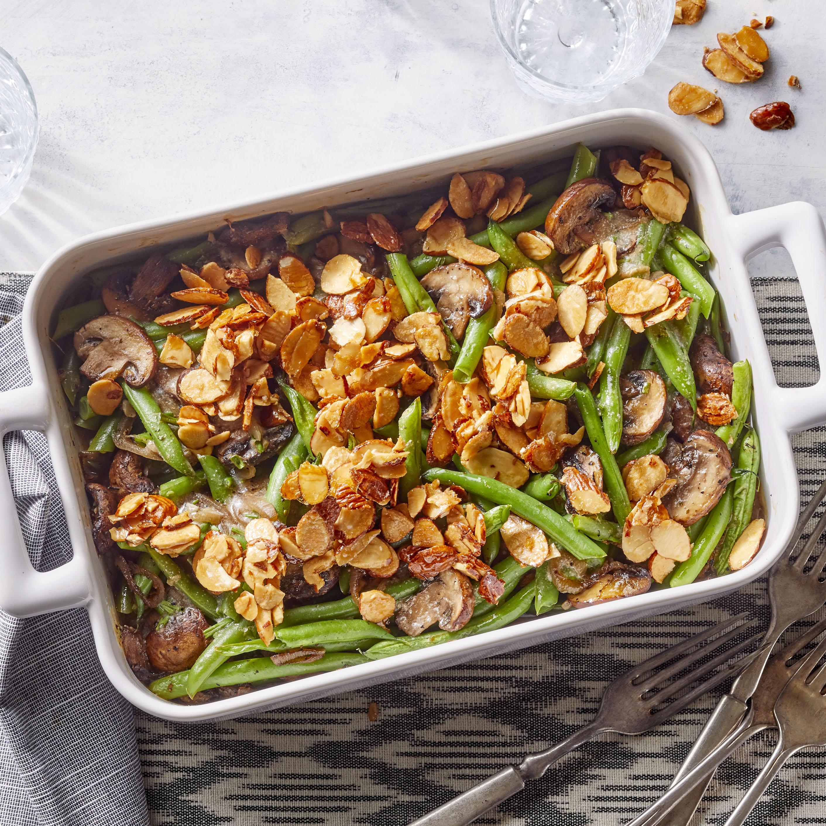 Healthier Homemade Green Bean Casserole_image