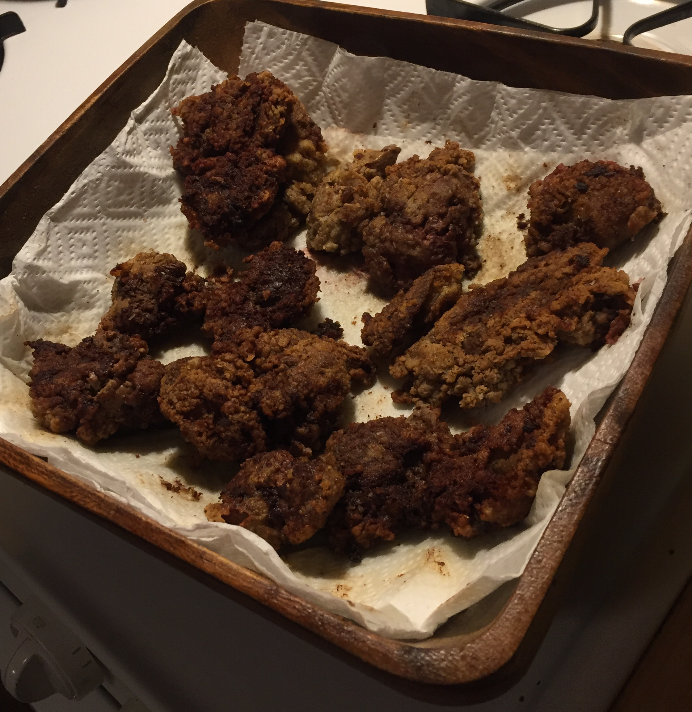 Southern Fried Chicken Livers