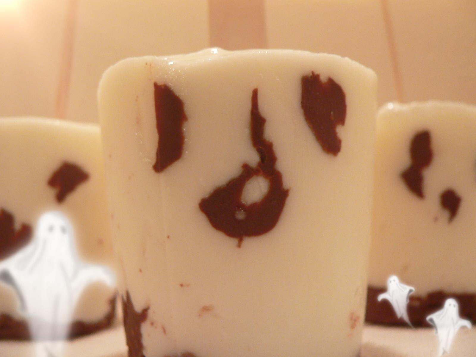 Halloween Yogurt Ghost Popsicles