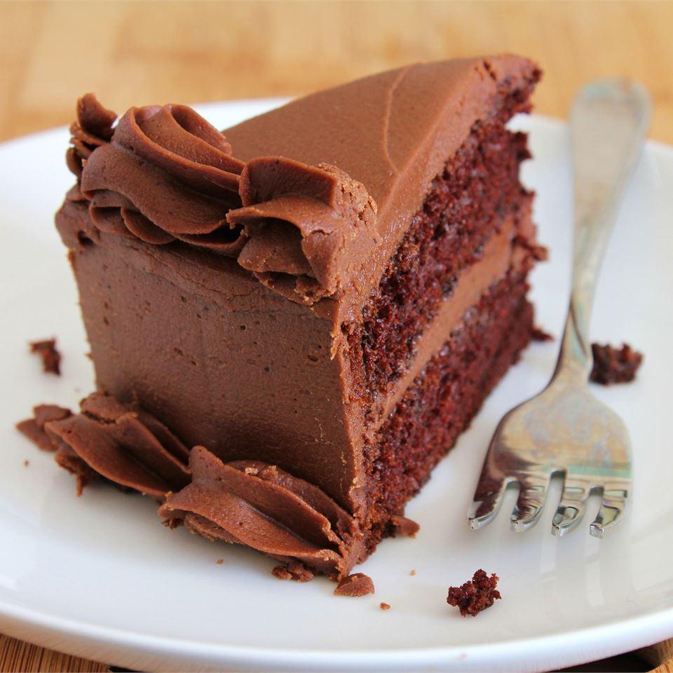 One Bowl Chocolate Cake III_image