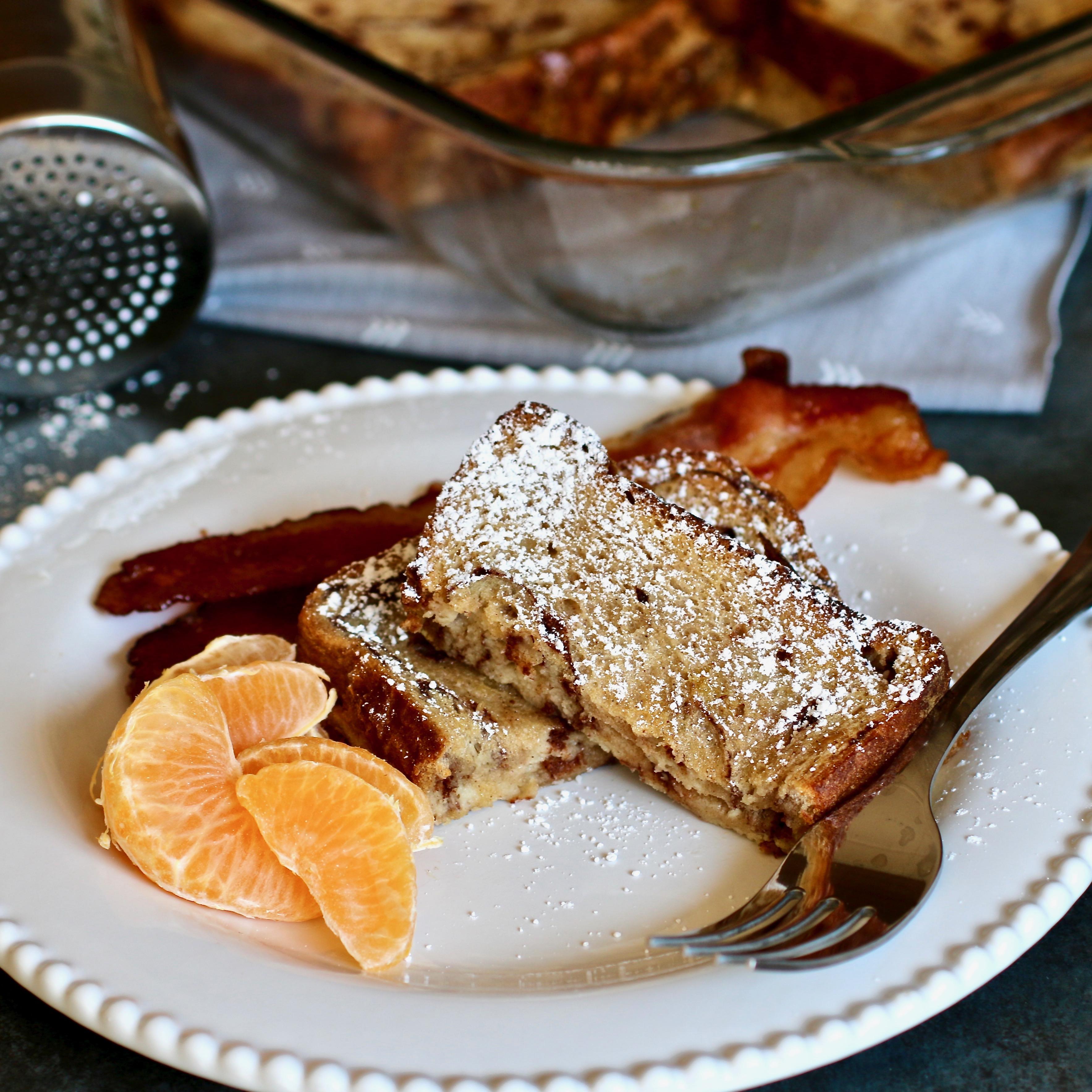Cinnamon Swirl French Toast Casserole image
