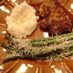 Asparagus Parmesan Nandabear